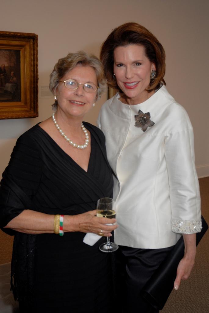 Mrs. Edith K. Lauer, Ambassador Nancy Brinker