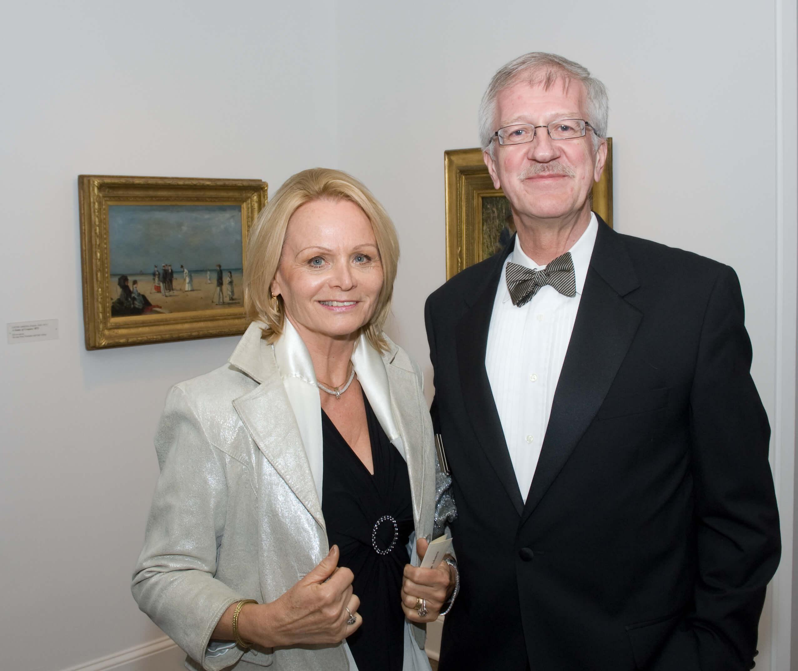 Mrs. Helga Schwartz, Mr. Jean- Pierre Schwartz
