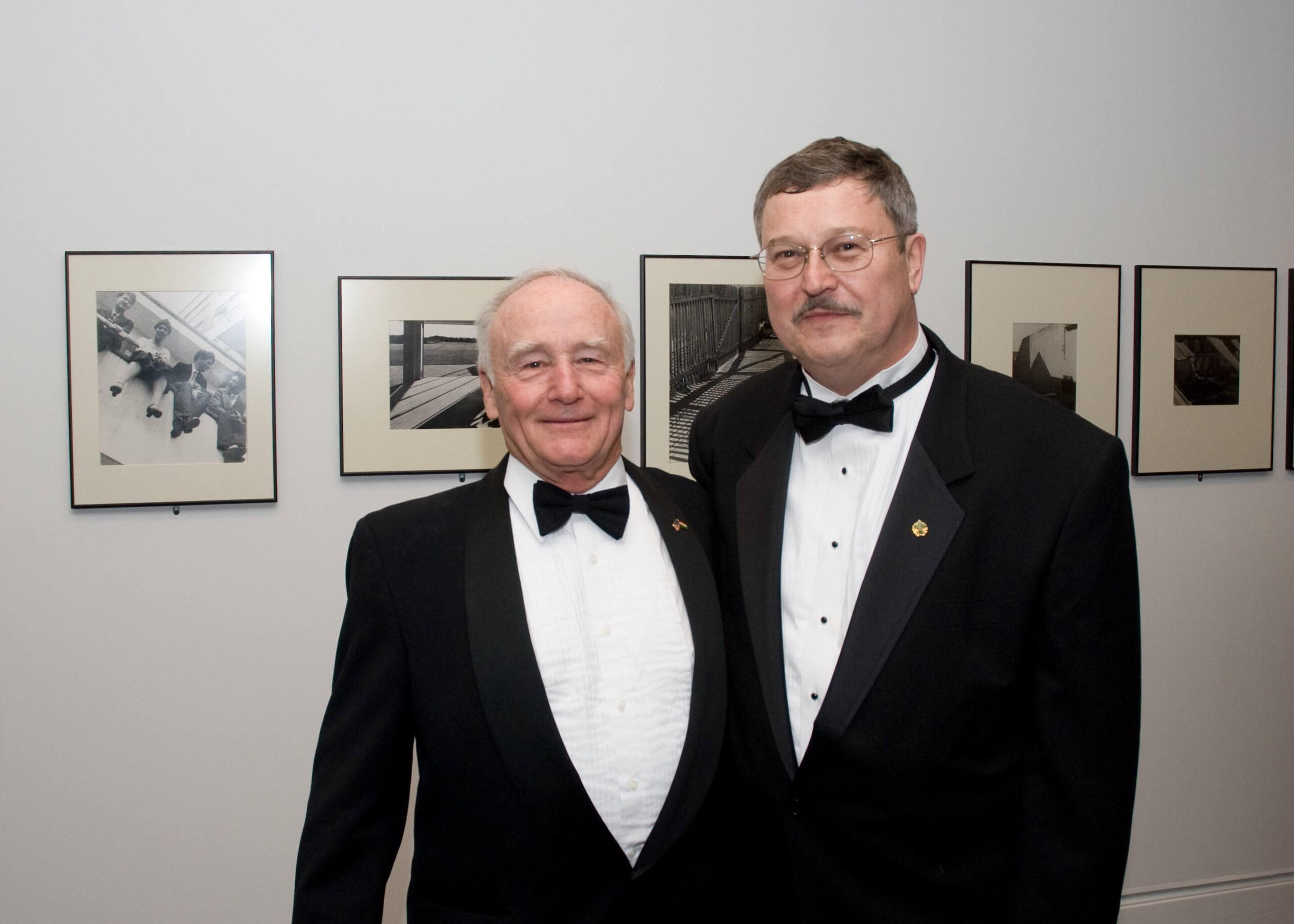 Ambassador george H. Walker III, Mr. Imre Lendvai-Lintner