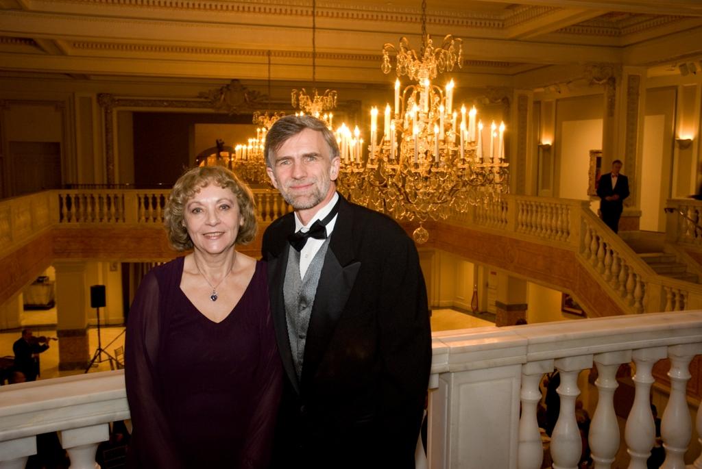 Mrs. Emese Purger and Mr. Tibor Purger
