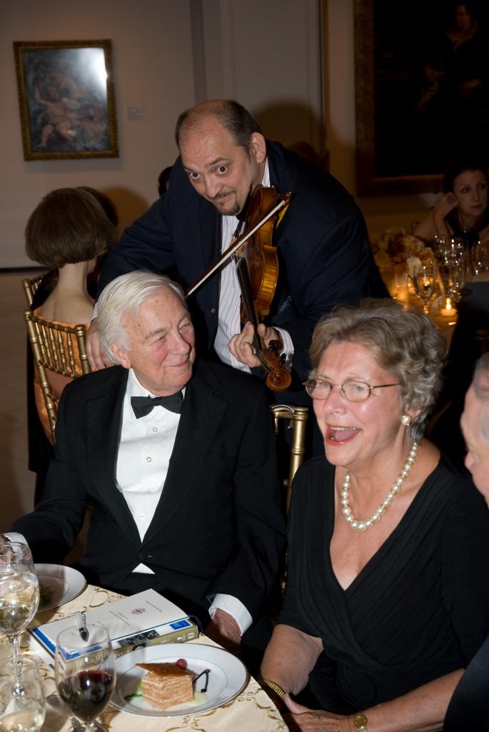 Mr. John C. Whitehead and Mrs. Edith K. Lauer