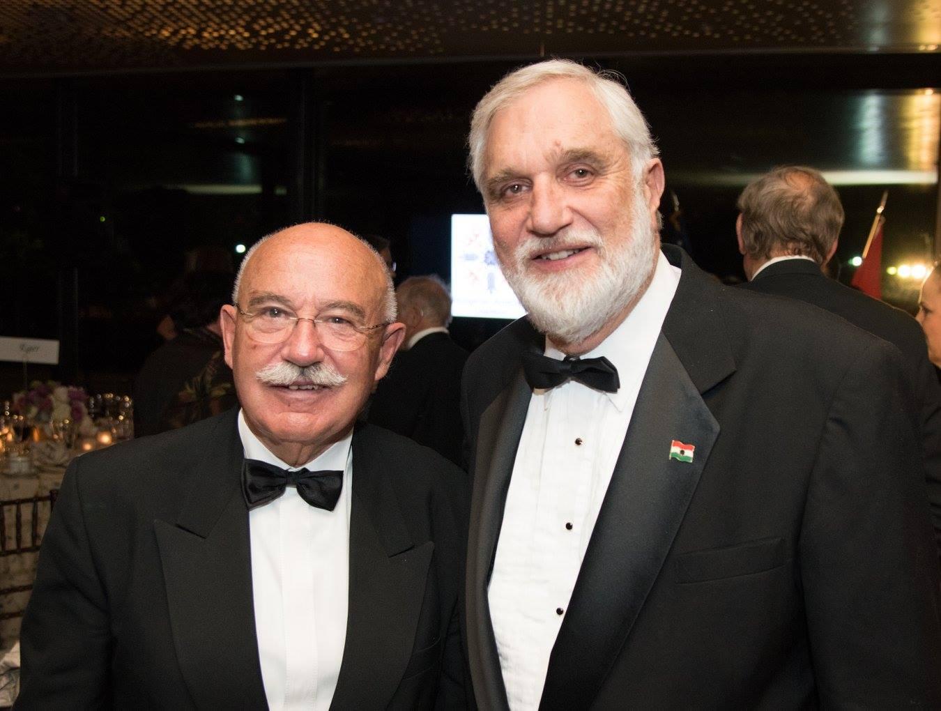 Dr. János Martonyi, Mr. George Pogan