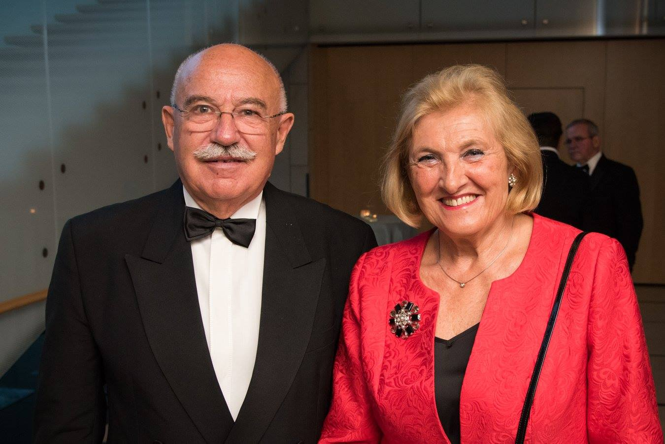 Dr. János Martonyi and his wife Dr. Rozália Rábai