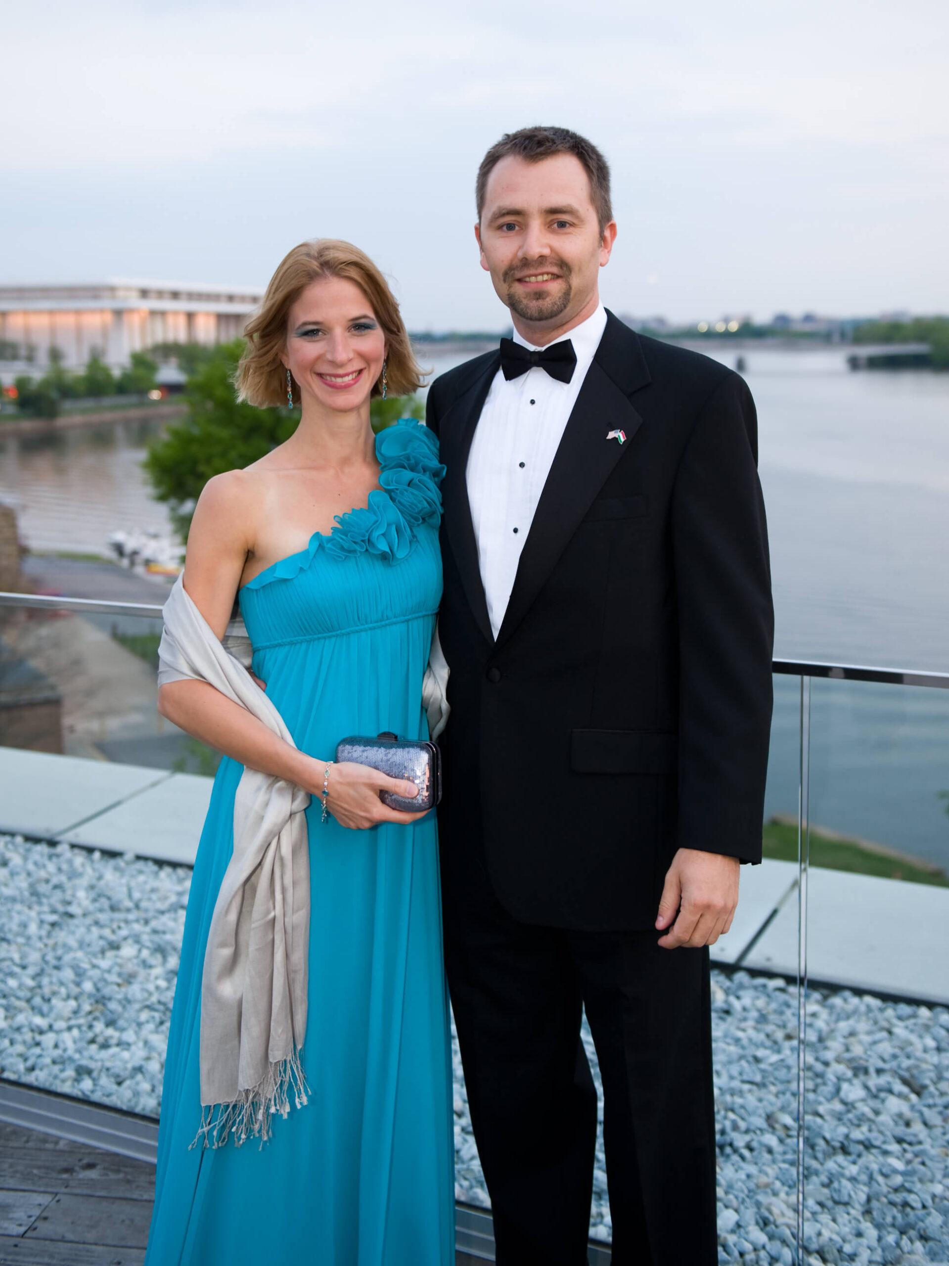 Dr. Mónika Takács, Mr. Béla Gedeon