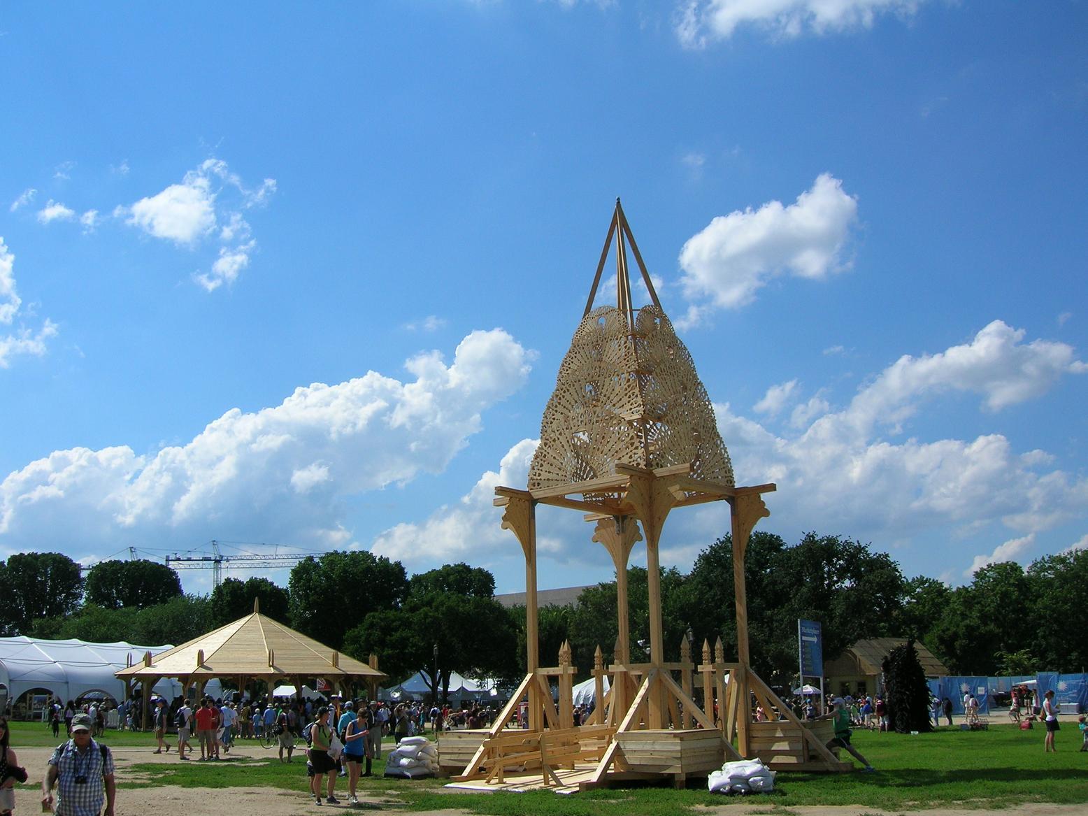 Folklife Festival 062913 Peacock Tower