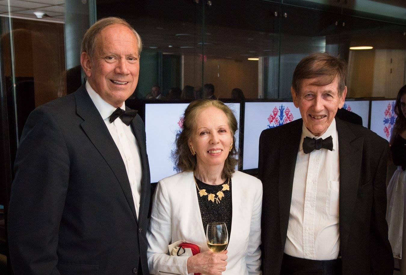Governor George Pataki, Mr. Blaise Pasztory, Mrs. Anikó Pasztory