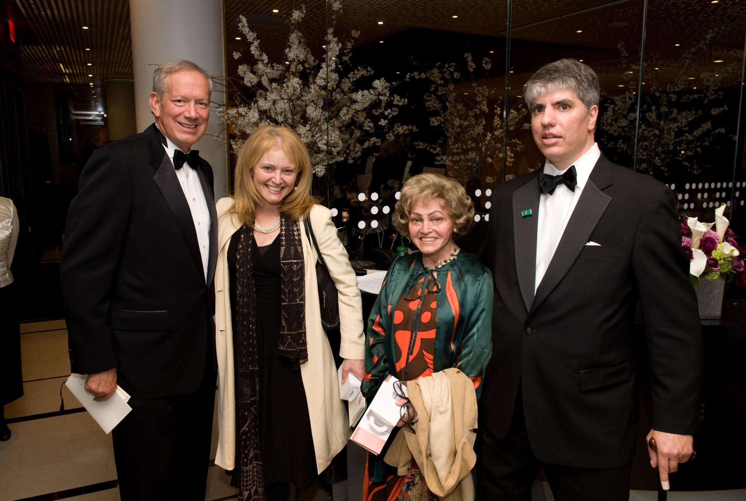 Governor George Pataki, Mrs. Katrina Lantos-Swett, Mrs. Anette Lantos, Mr. Maximilian N. Teleki