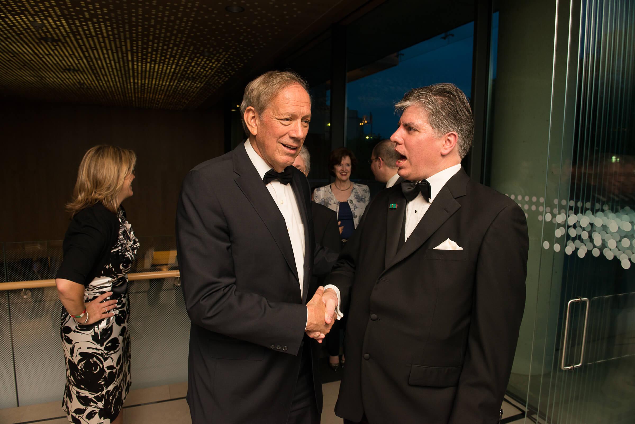 Governor George Pataki and Mr. Maximilian N. Teleki
