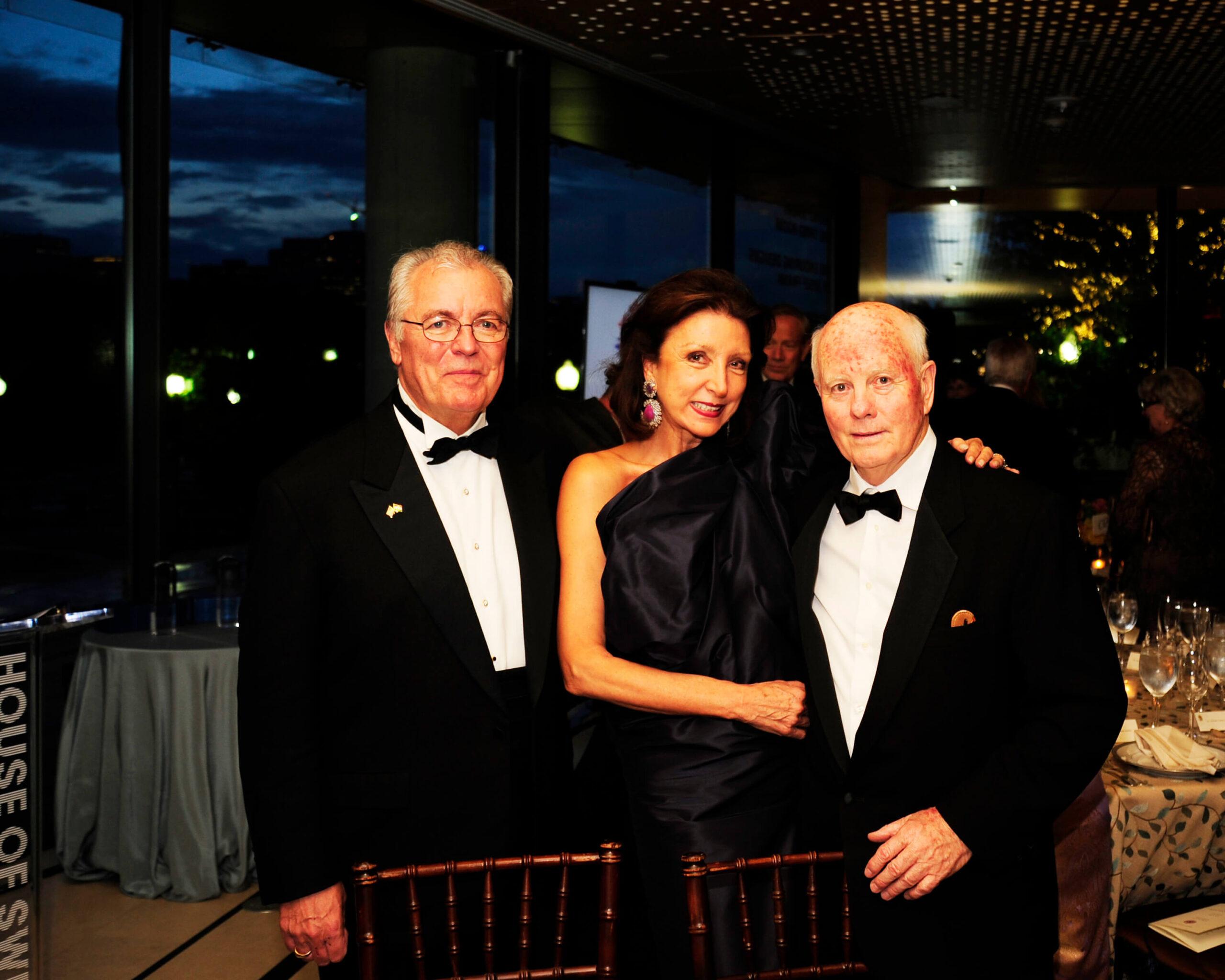 John Lauer, Aniko Gaal Schott and Robert Fenimore