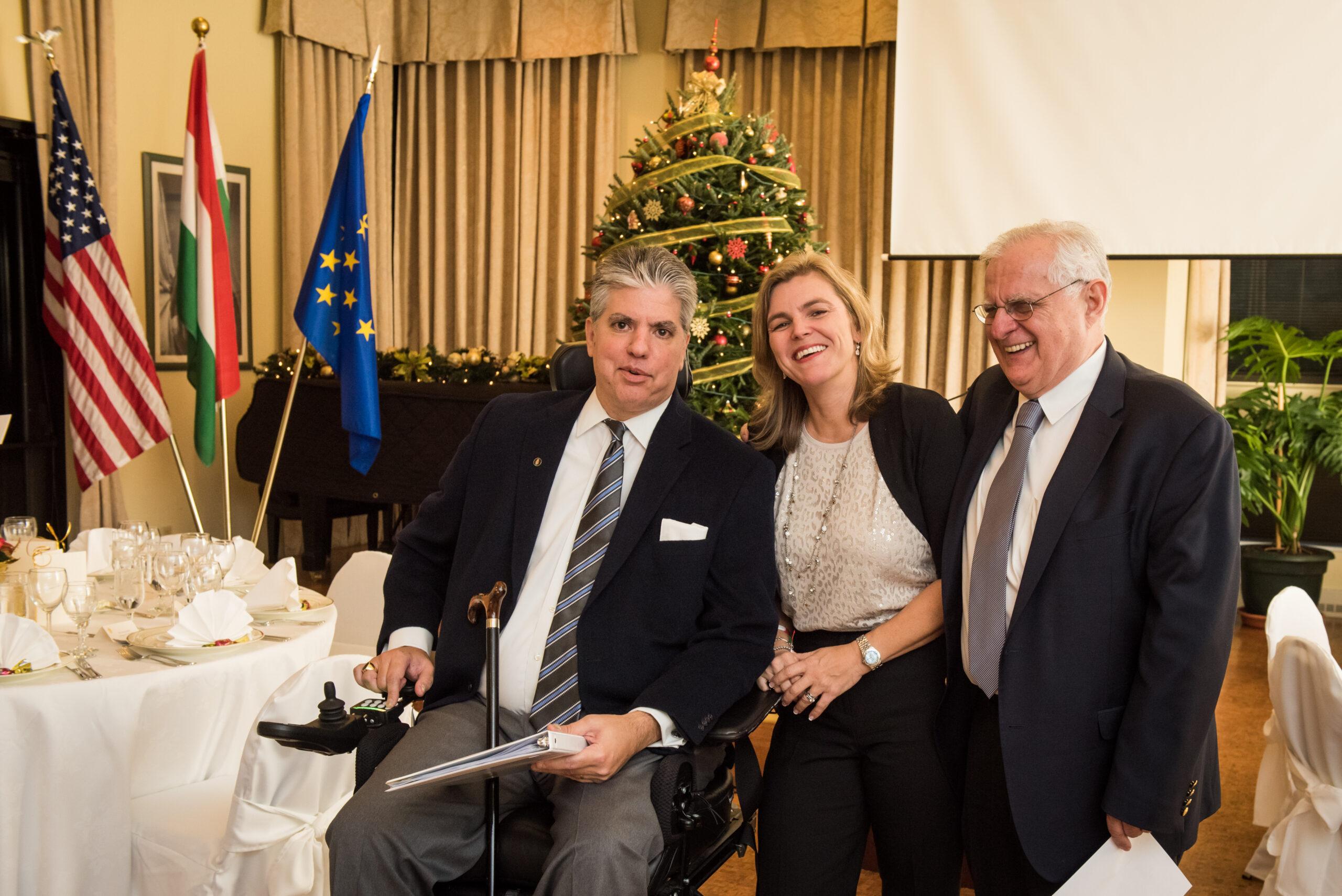 Mr. Maximilian N. Teleki, Mrs. Andrea Lauer Rice and Mr. Zsolt Szekeres