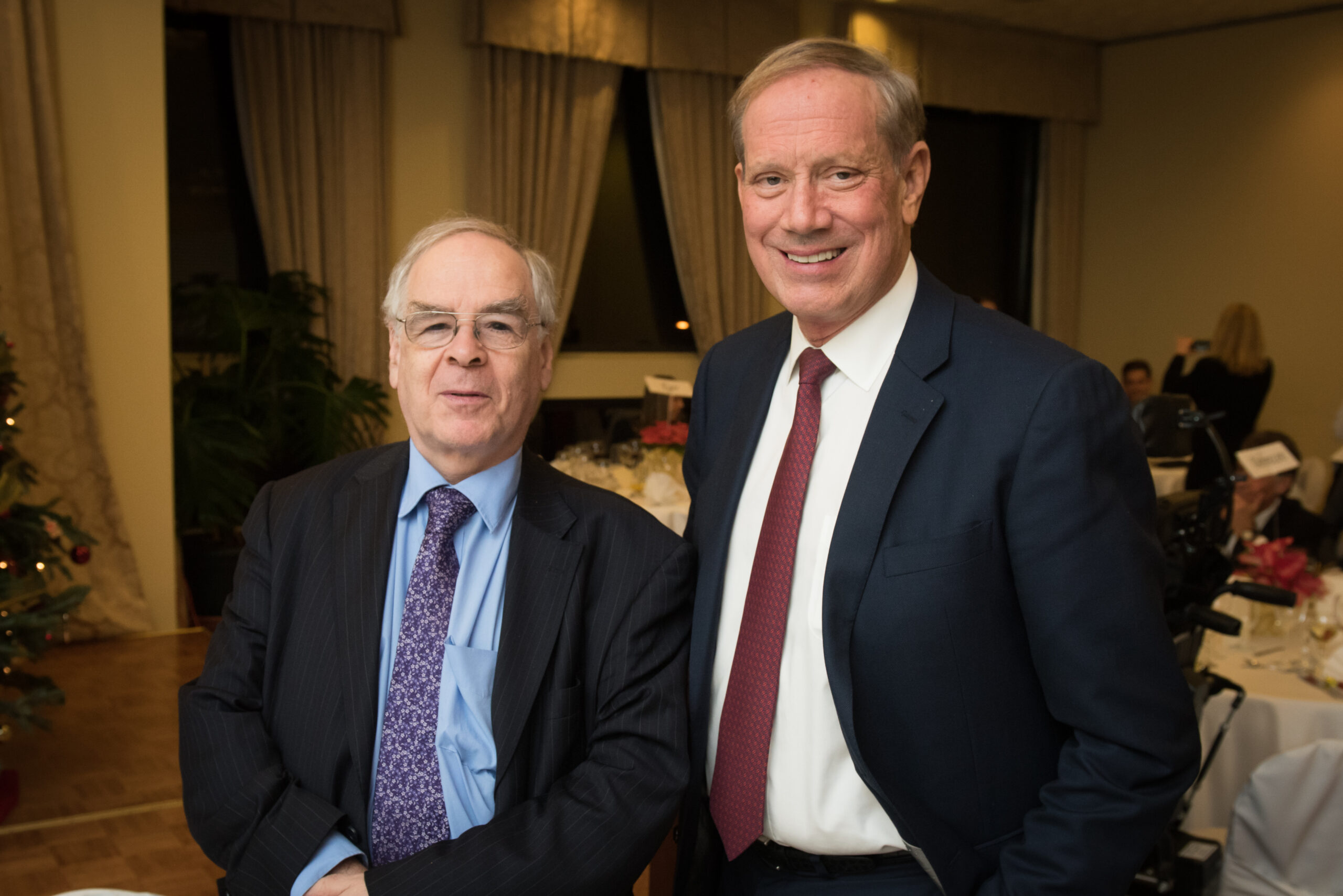 Dr. George Schöpflin and Governor George Pataki