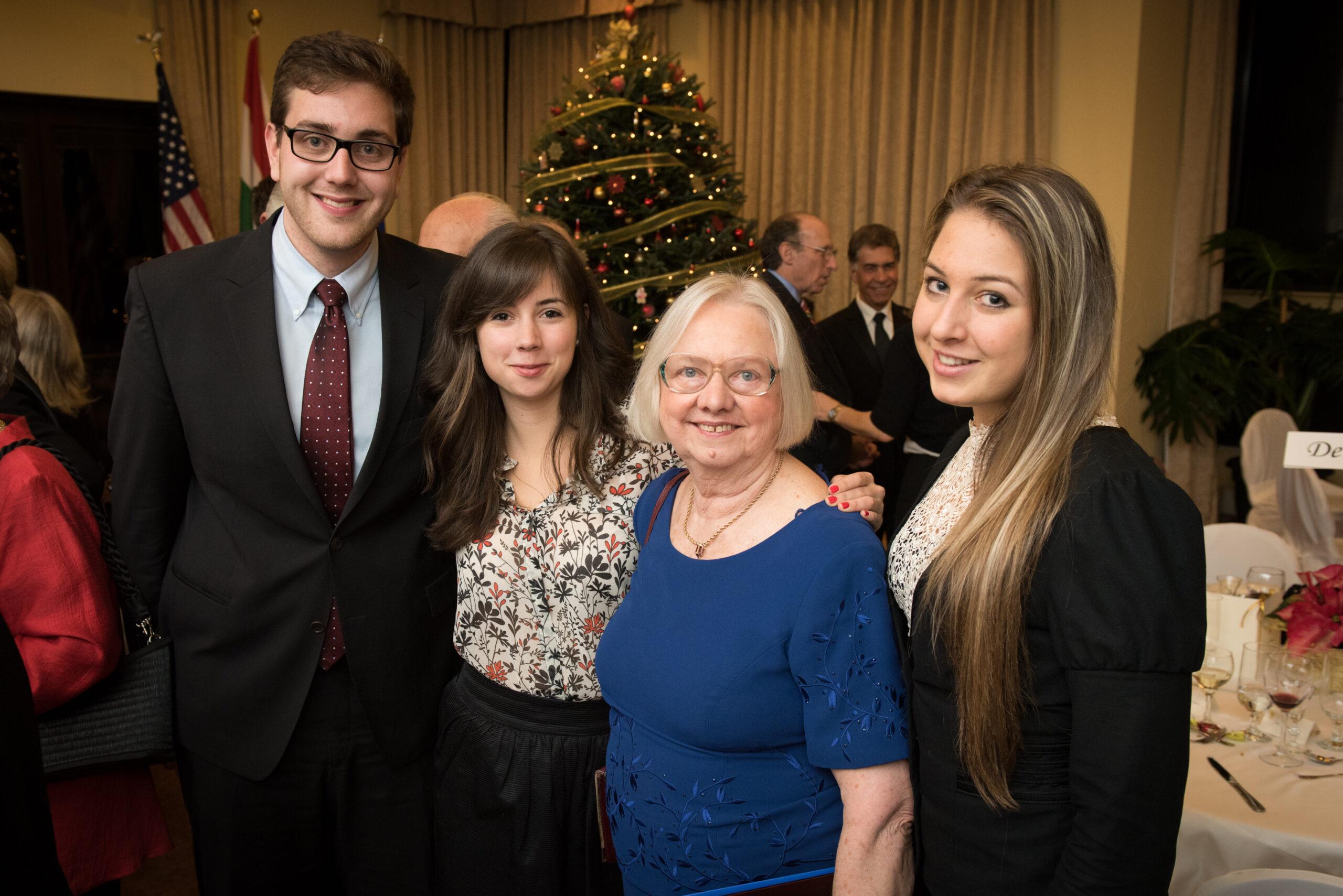 Mrs. Enikő Molnár Basa with Coalition interns Mr. Péter Heltai, Ms. Eszter Pázmándi and Ms. Blanka Bartos