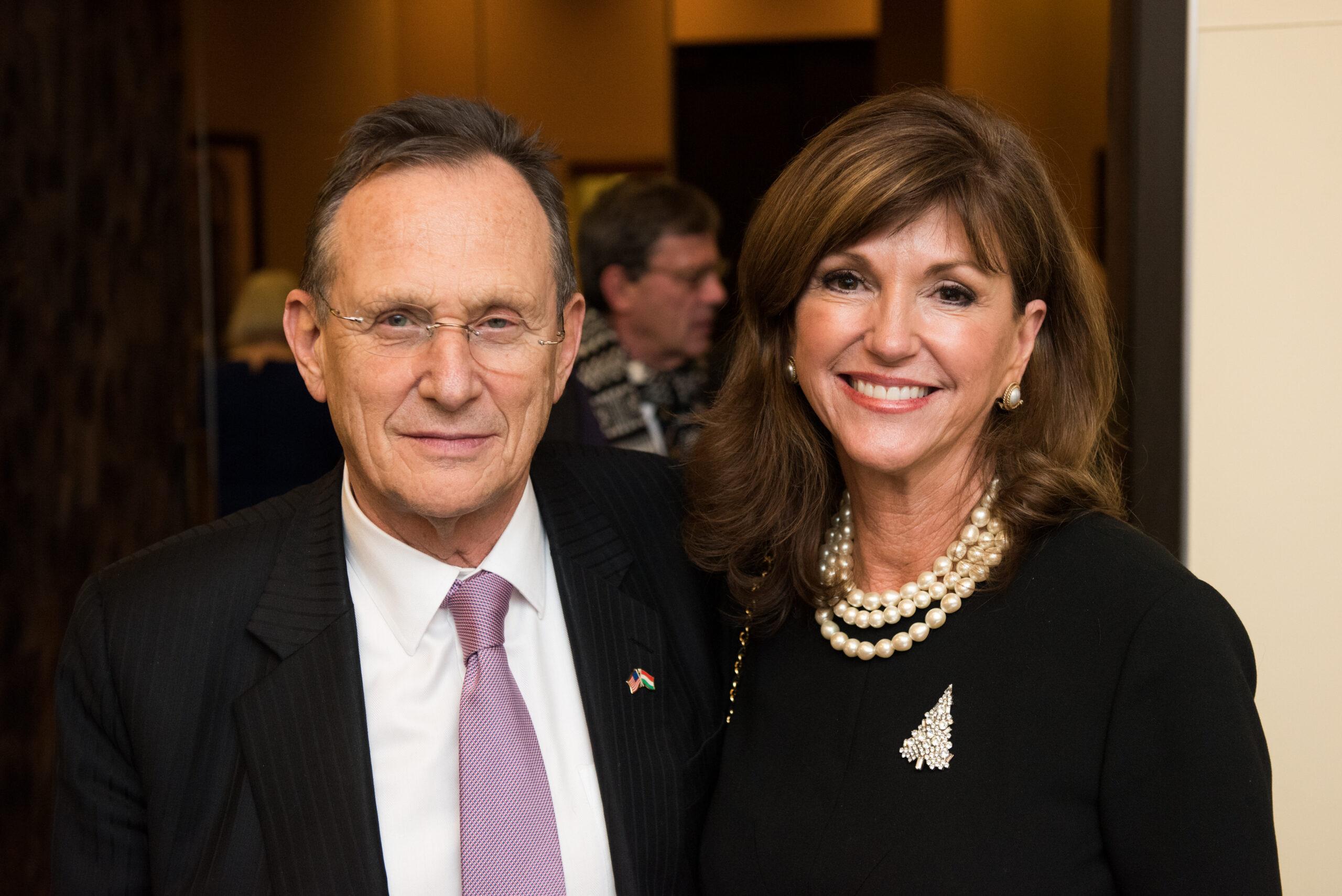 Ambassador György Szapáry and Ms. Susan Hutchison