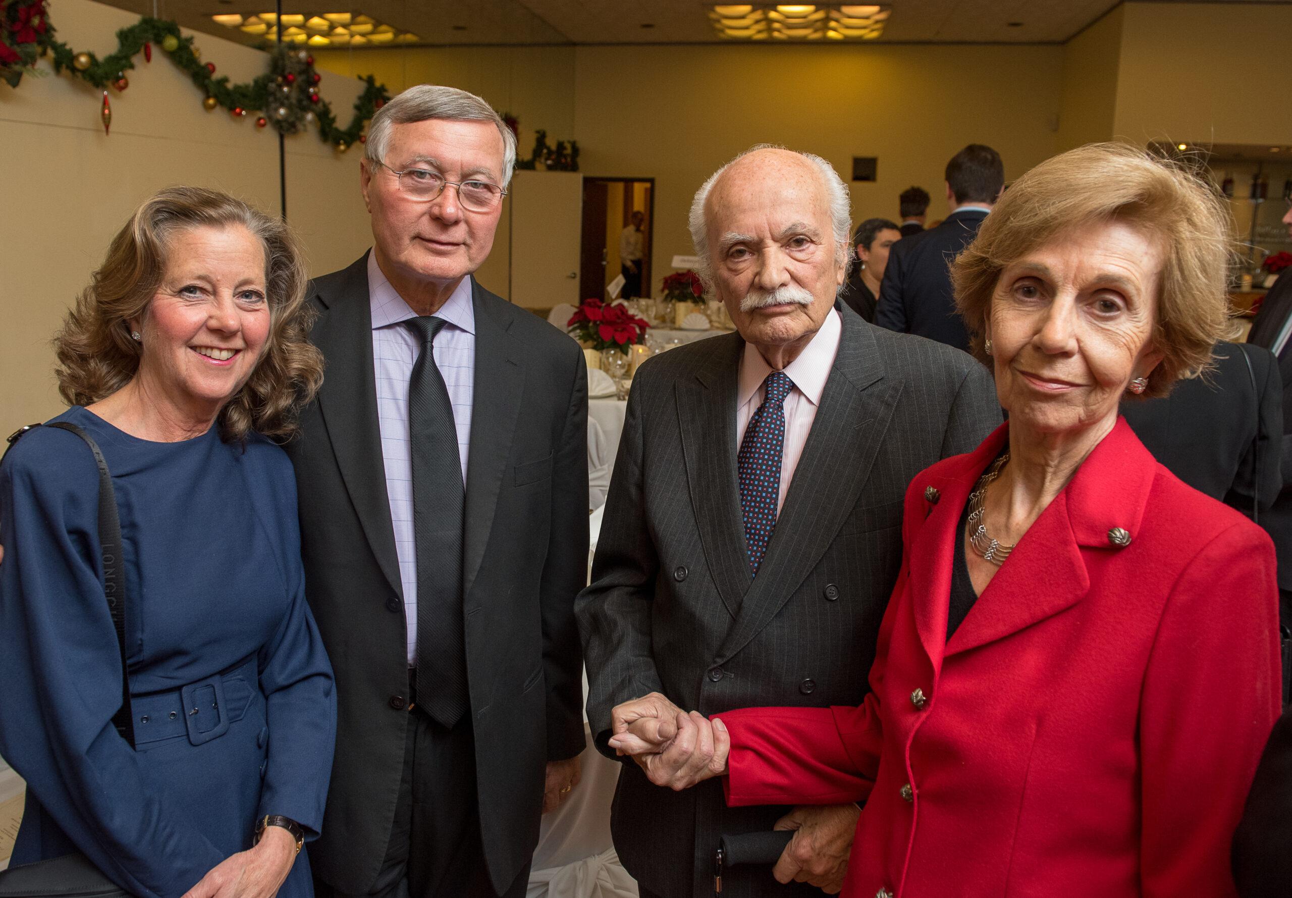 Mrs. Cathryn Németh, Dr. Imre Németh, Mr. Steven Teleki, Mrs. Beatriz Teleki