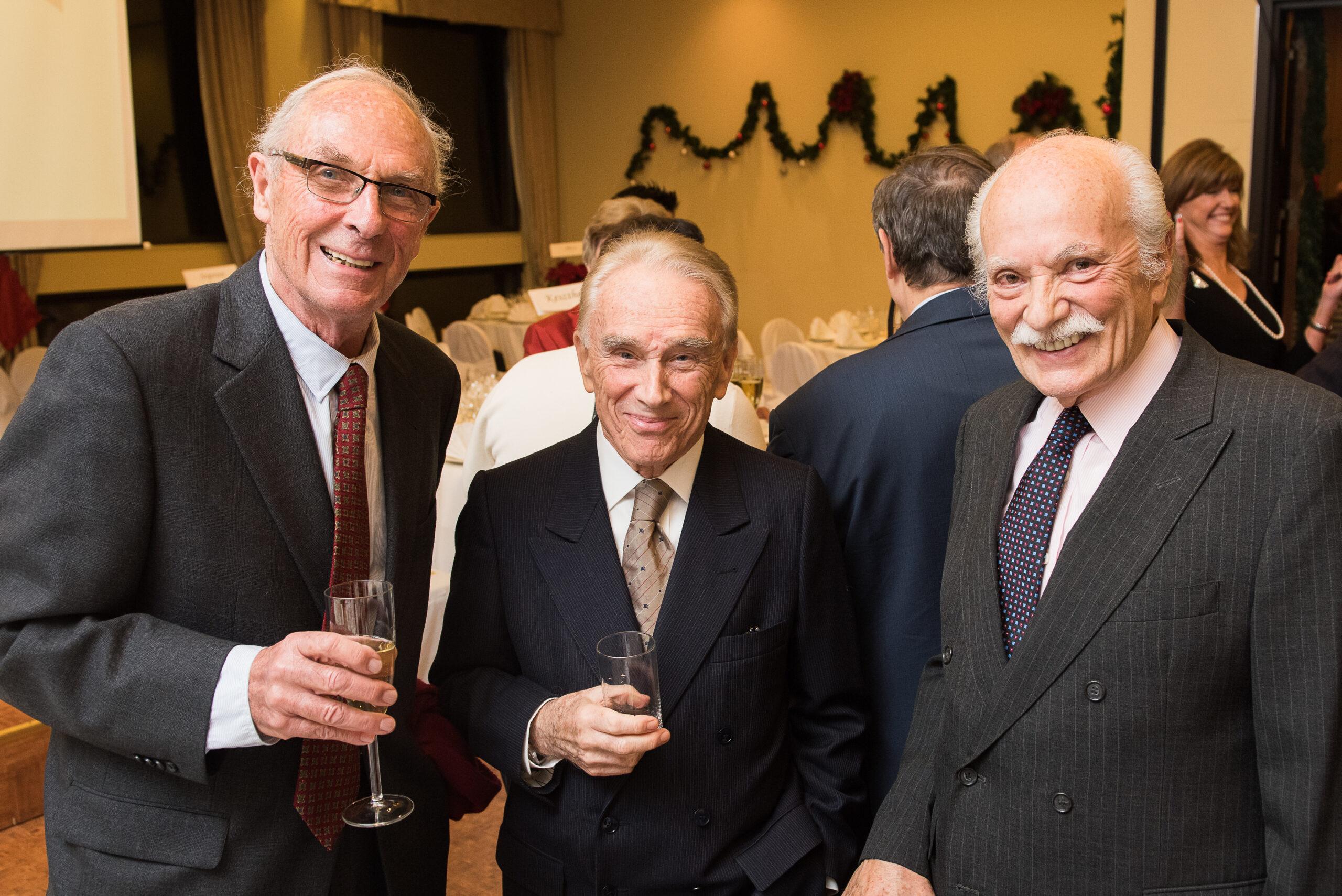 Mr. Sándor Károlyi, Mr. Julius Várallyay, Mr. Steven Teleki