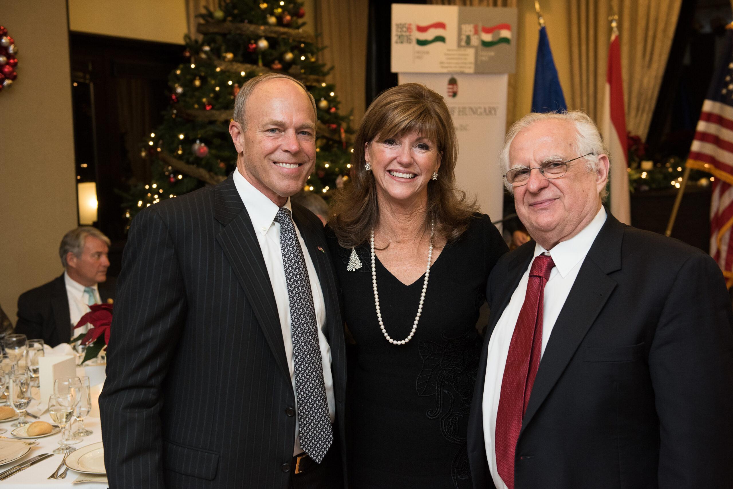 Mr. Andy Hutchison, Mrs. Susan Hutchison (Chairman of the Washington State Republican Party), Coalition Treasurer Zsolt Szekeres