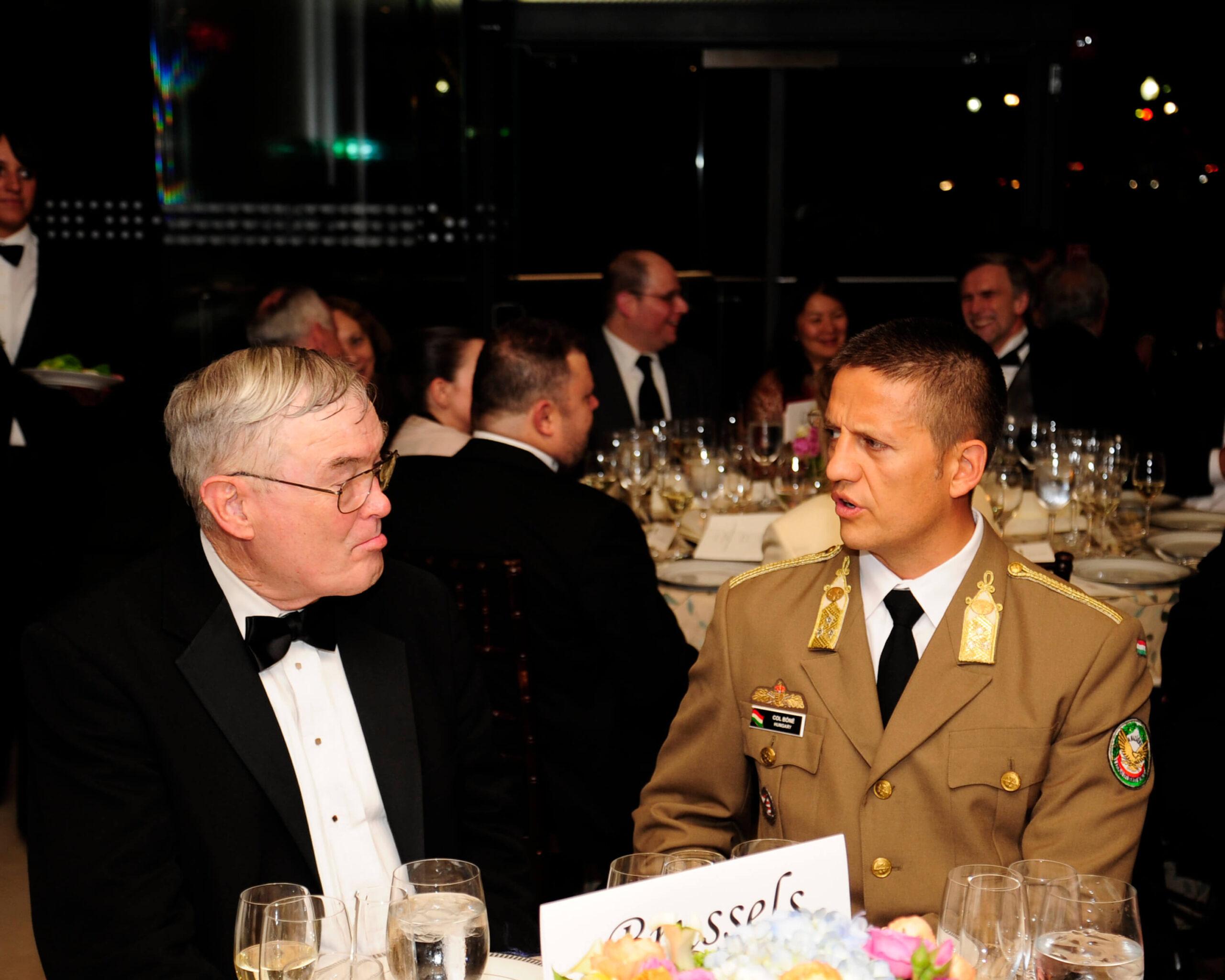 Lt. General Nicholas Kehoe (Ret.) and Col. Zoltan Bone