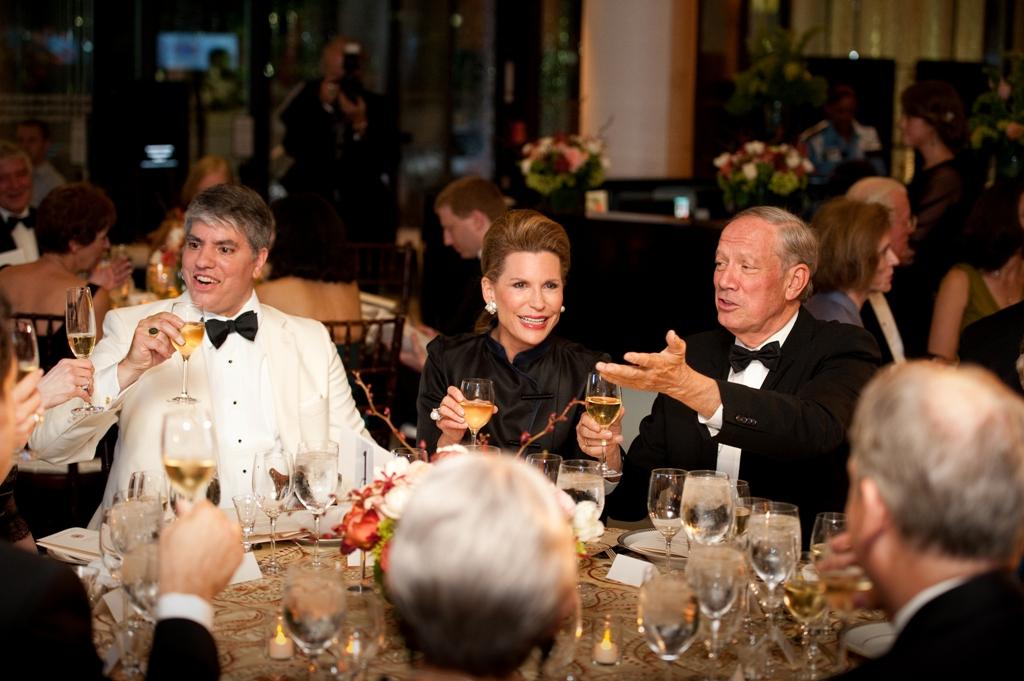 Max Teleki – President of HAC; Ambassador Nancy G. Brinker; George Pataki – former Governor of New York
