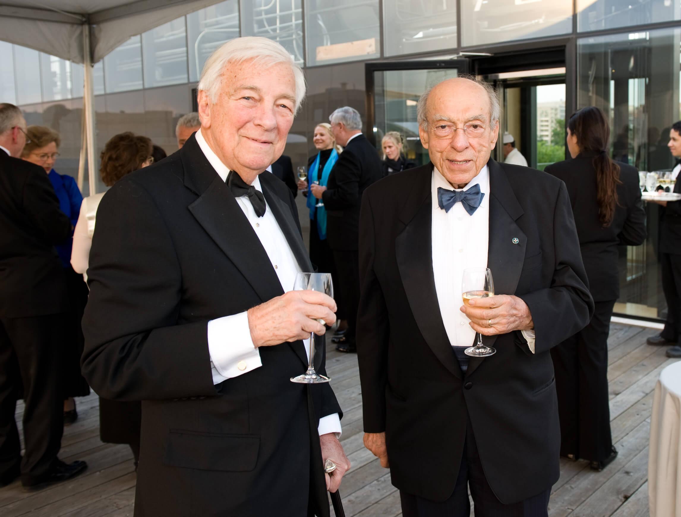 Mr. John C. Whitehead and Mr. August J. Molnar