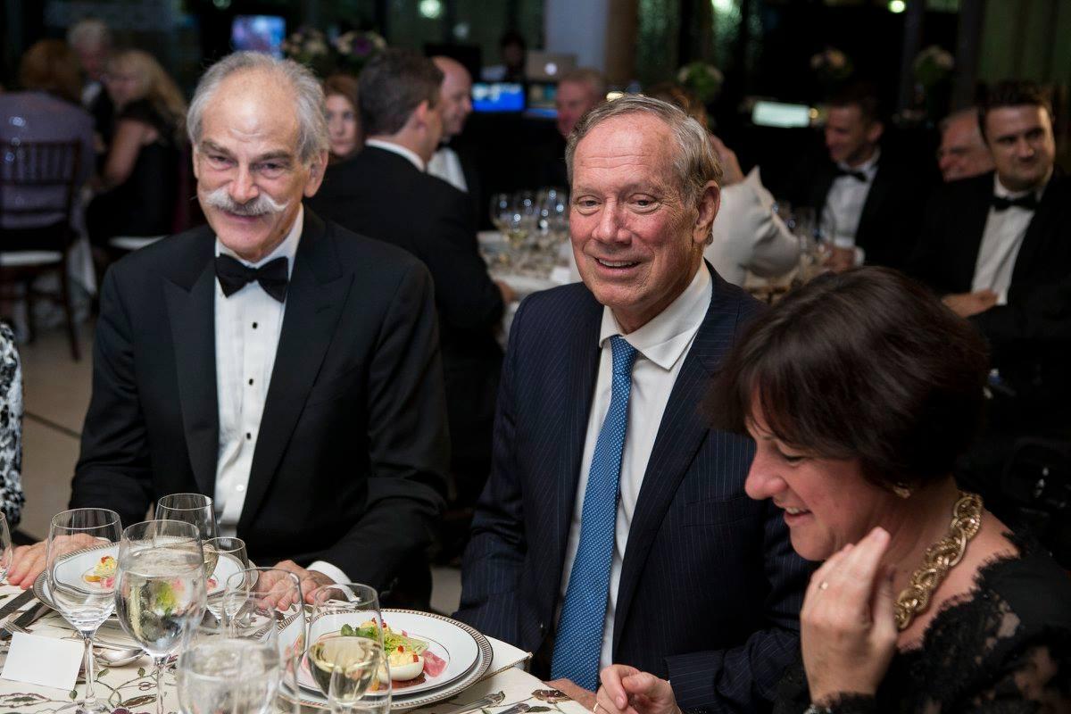 Mr. John Lipsky, Governor George Pataki, Ambassador Réka Szemerkényi