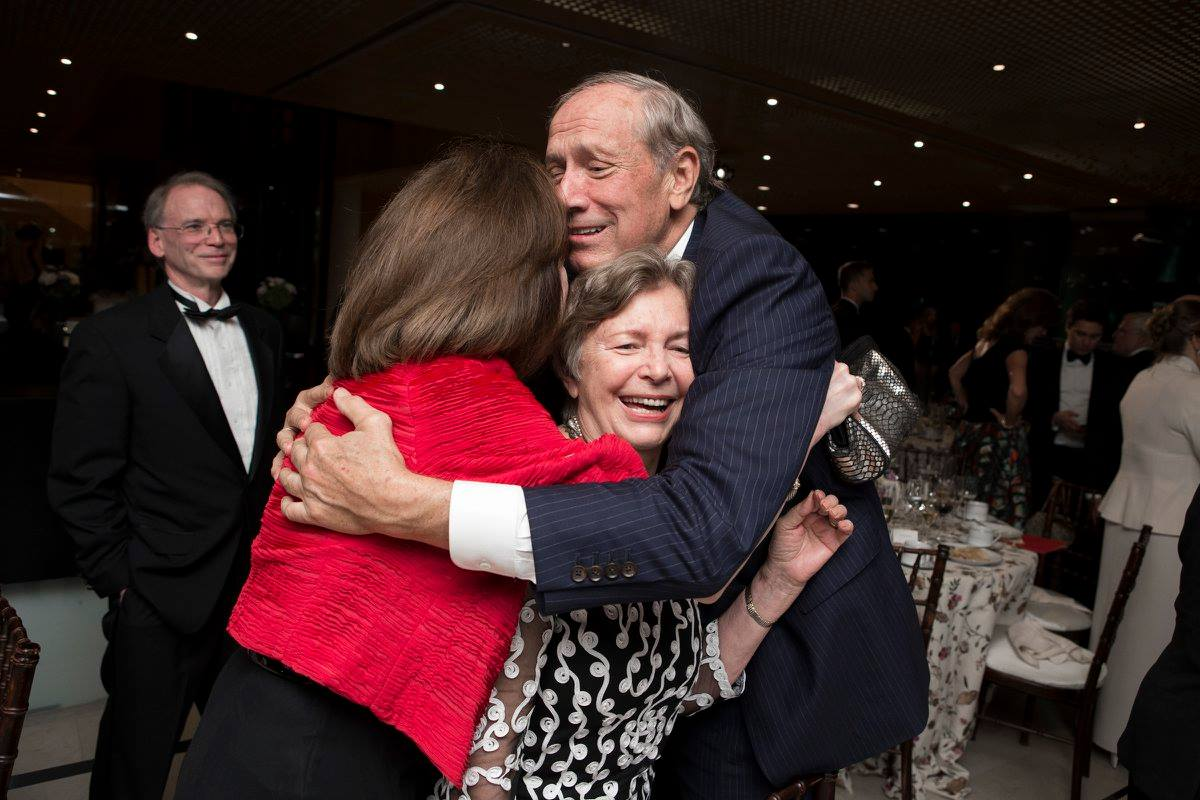 Mr. Ray Gillespille, Ambassador April Foley, Coalition Chair Emerita Edith Lauer, Governor George Pataki