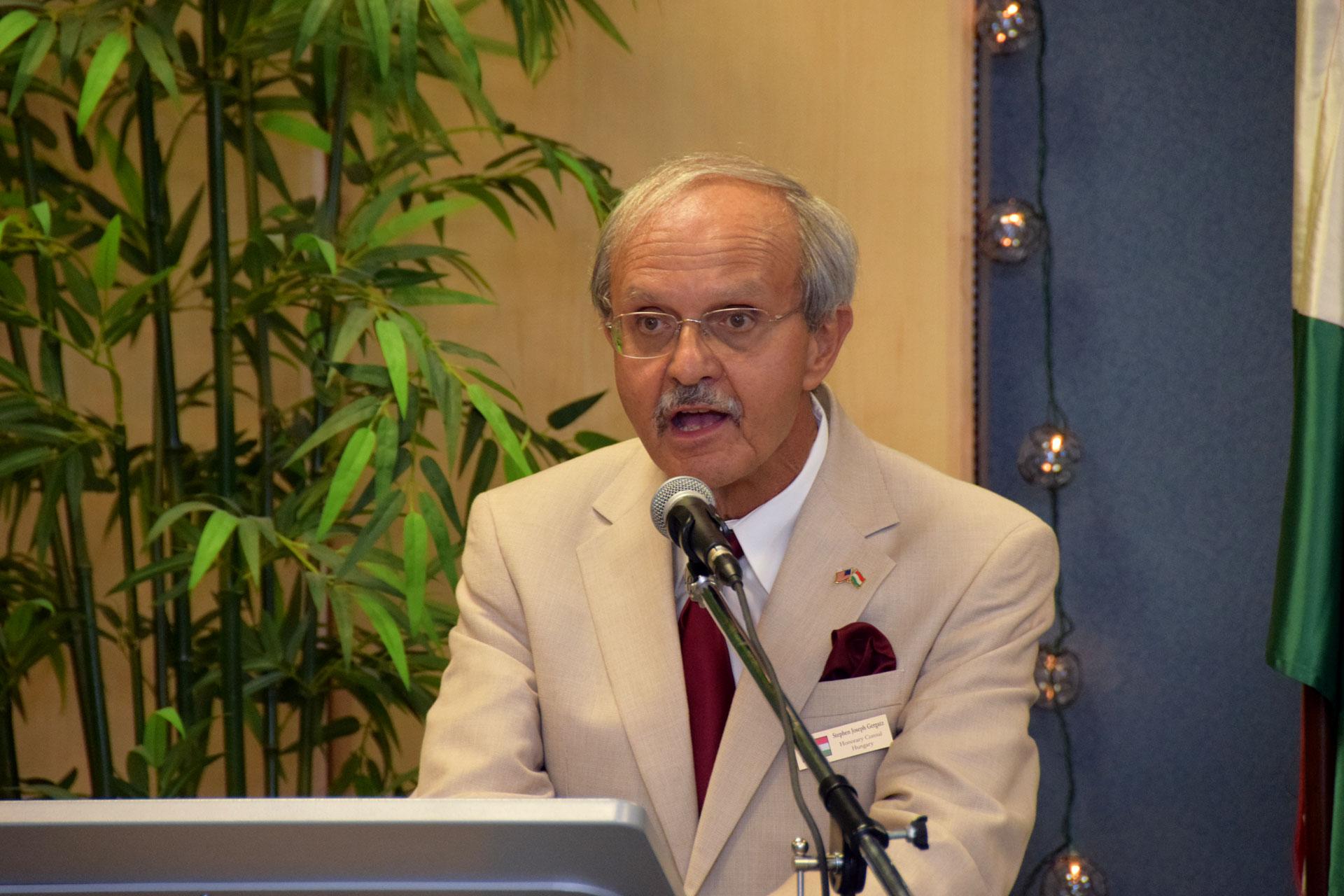 Mr. Stephen Joseph Gergatz, Honorary Consul of Sarasota, FL