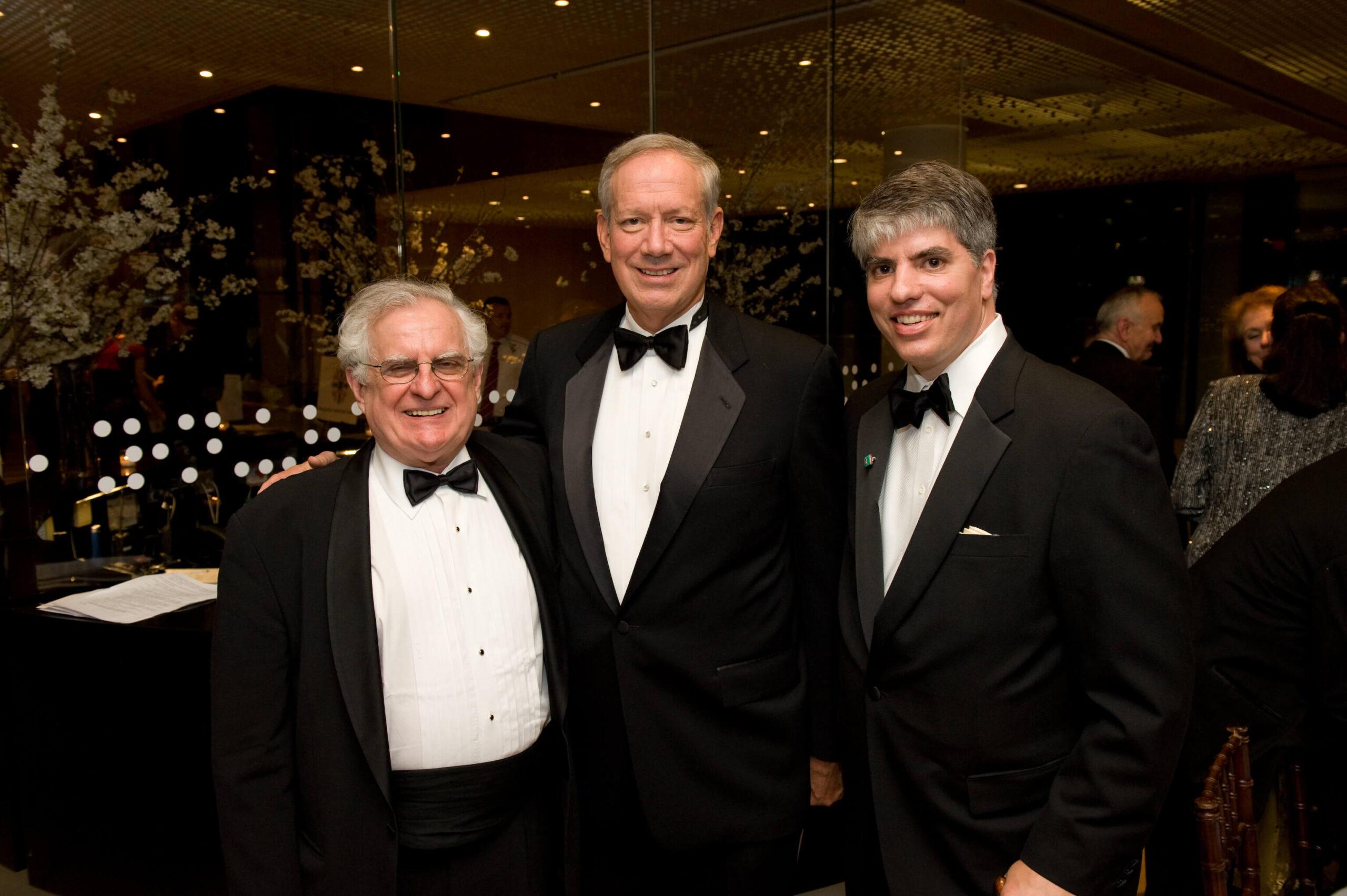 Mr. Zsolt Szekeres, Governor George Pataki, Mr. Maximilian N. Teleki
