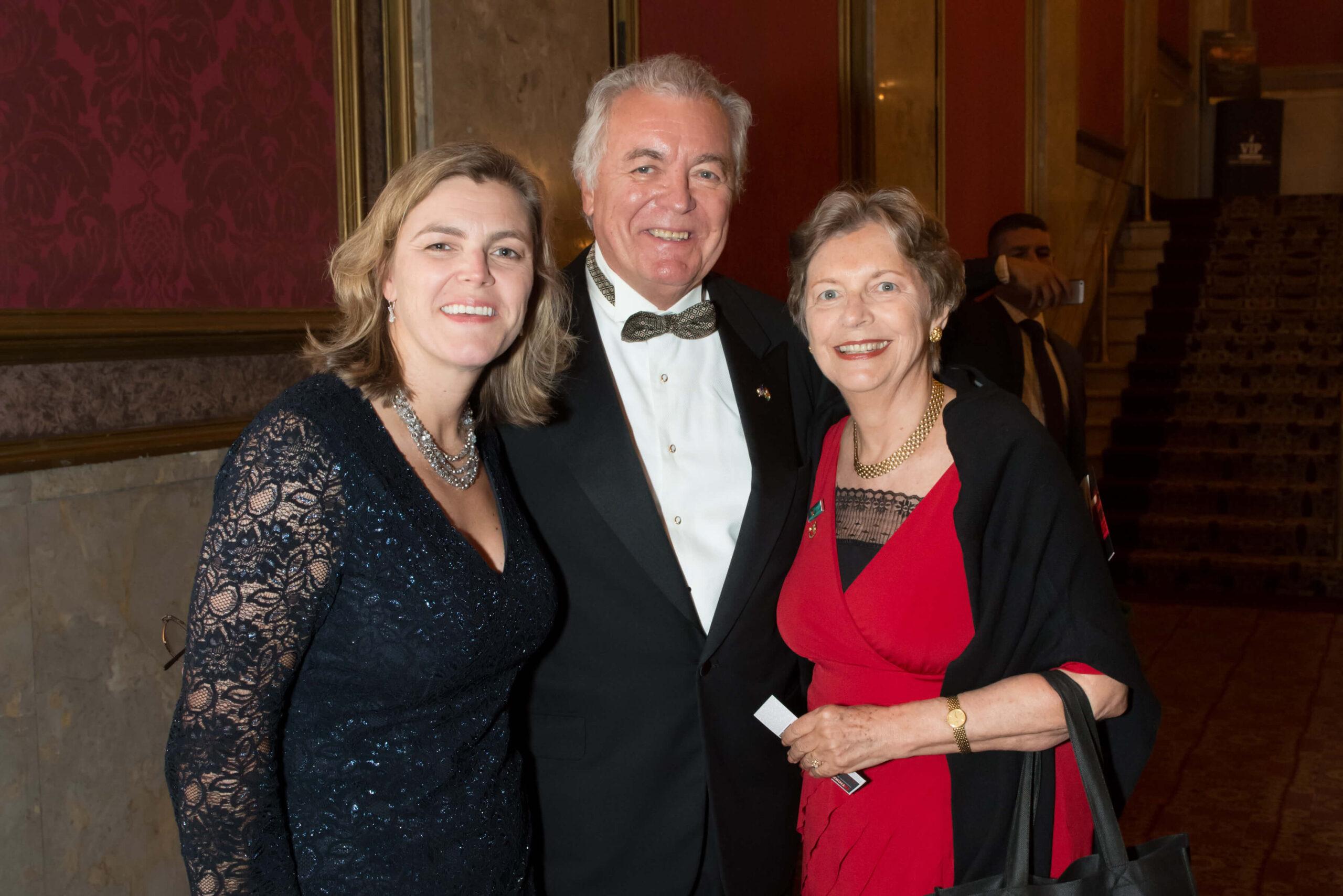 Mrs. Andrea Lauer Rice, Mr. John N. Lauer, Mrs. Edith K. Lauer