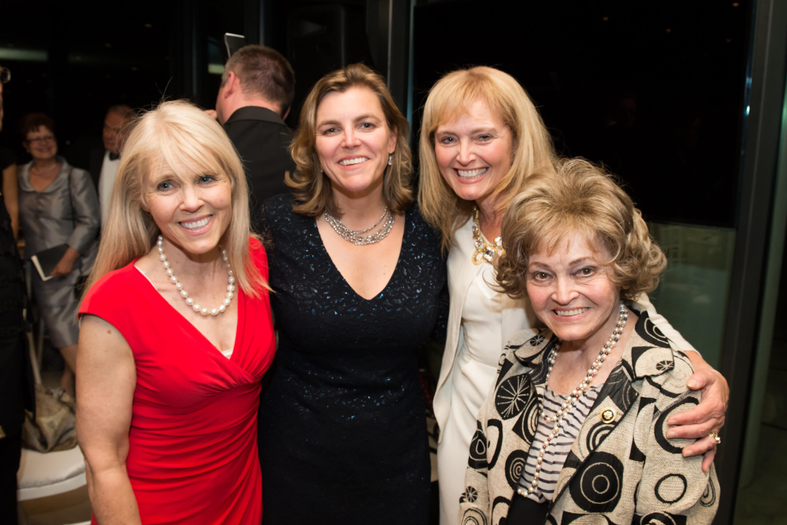 Mrs. Anette Tillemann-Dick, Mrs. Andrea Lauer Rice, Mrs. Katrina Lantos Swett, Mrs. Anette Lantos
