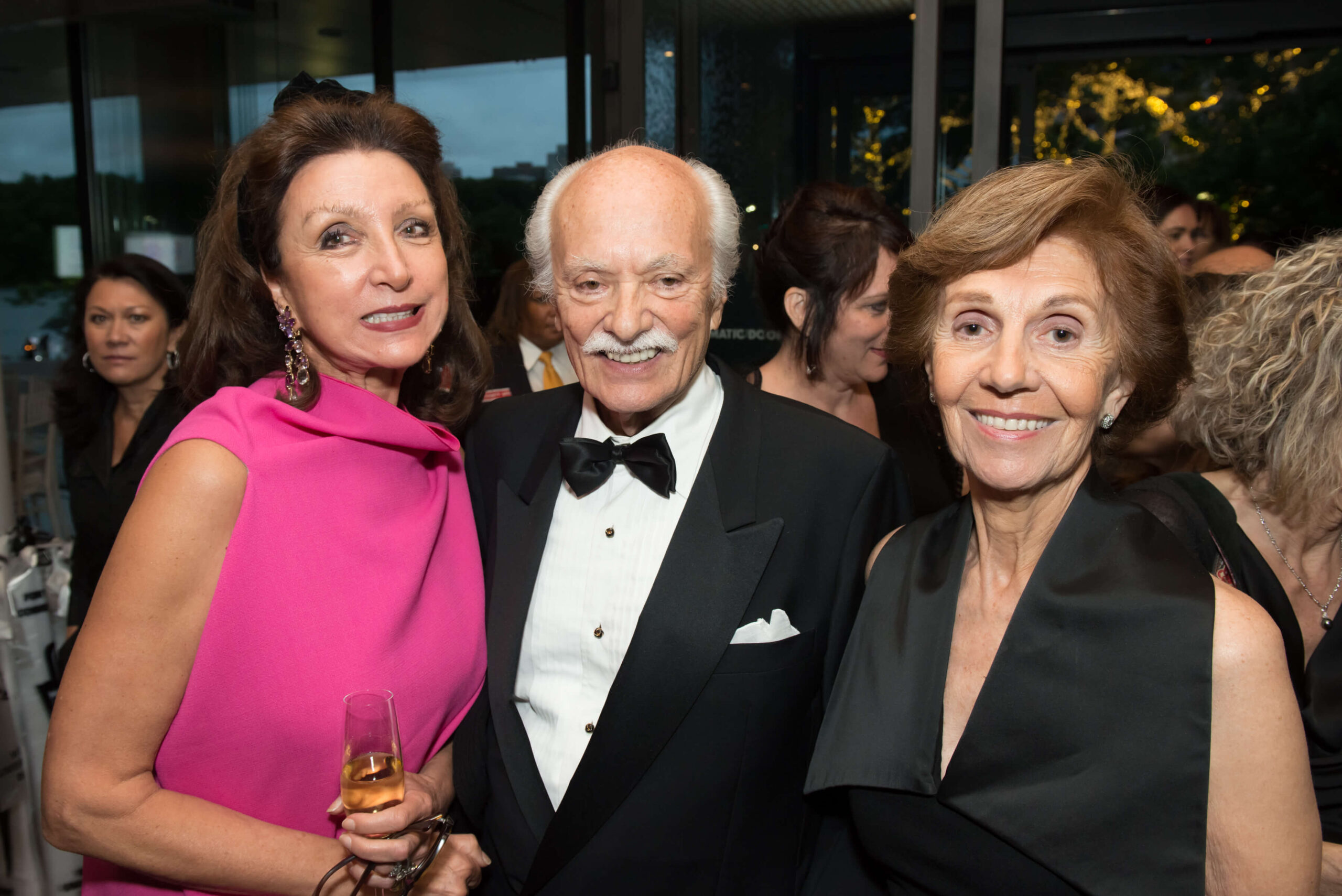Mrs. Anikó Gaál-Schott, Mr. István Teleki and Mrs. Beatriz Teleki