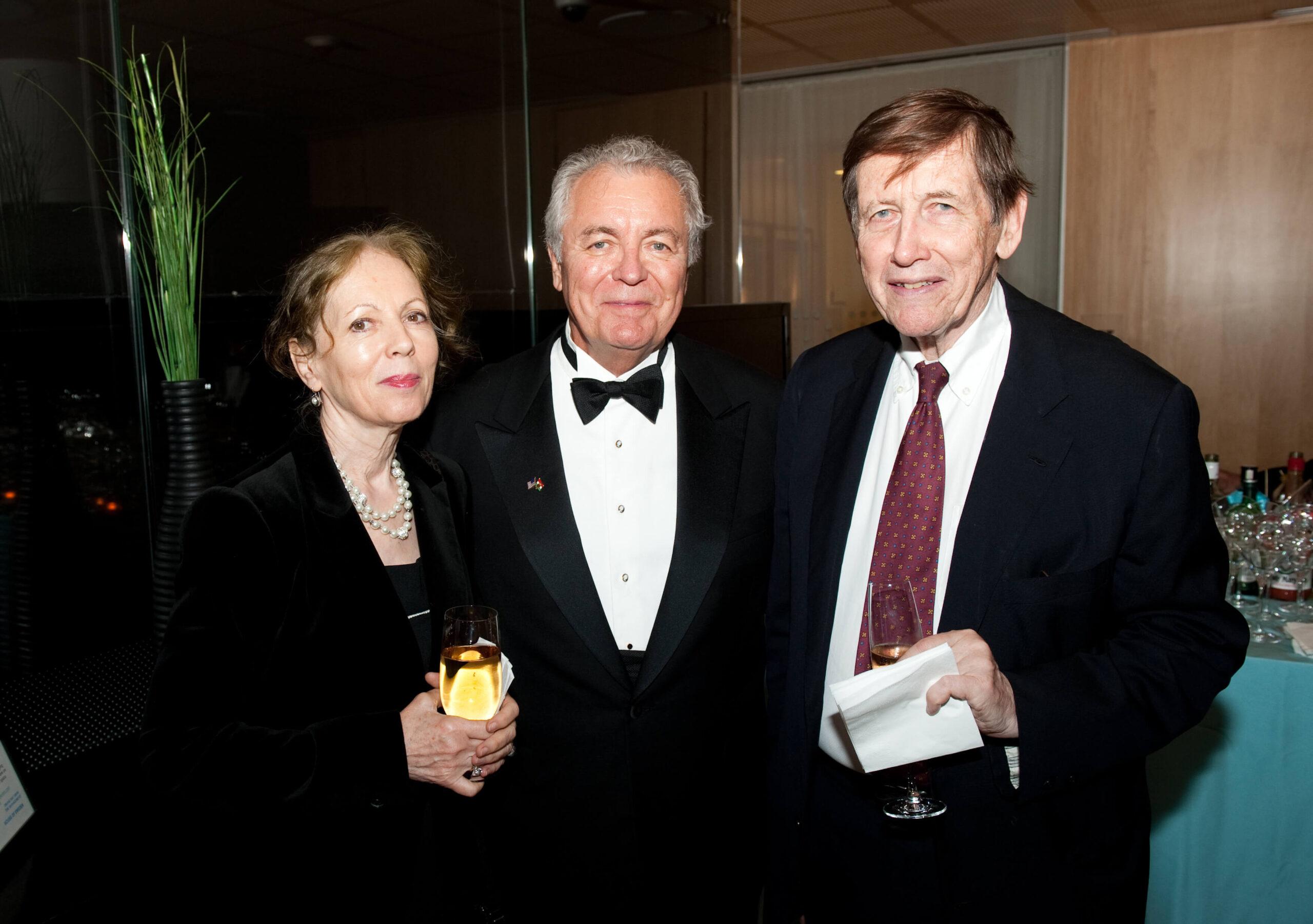 Mrs. Anikó Pásztory, Mr. John N. Lauer, Mr. Blaise Pásztory