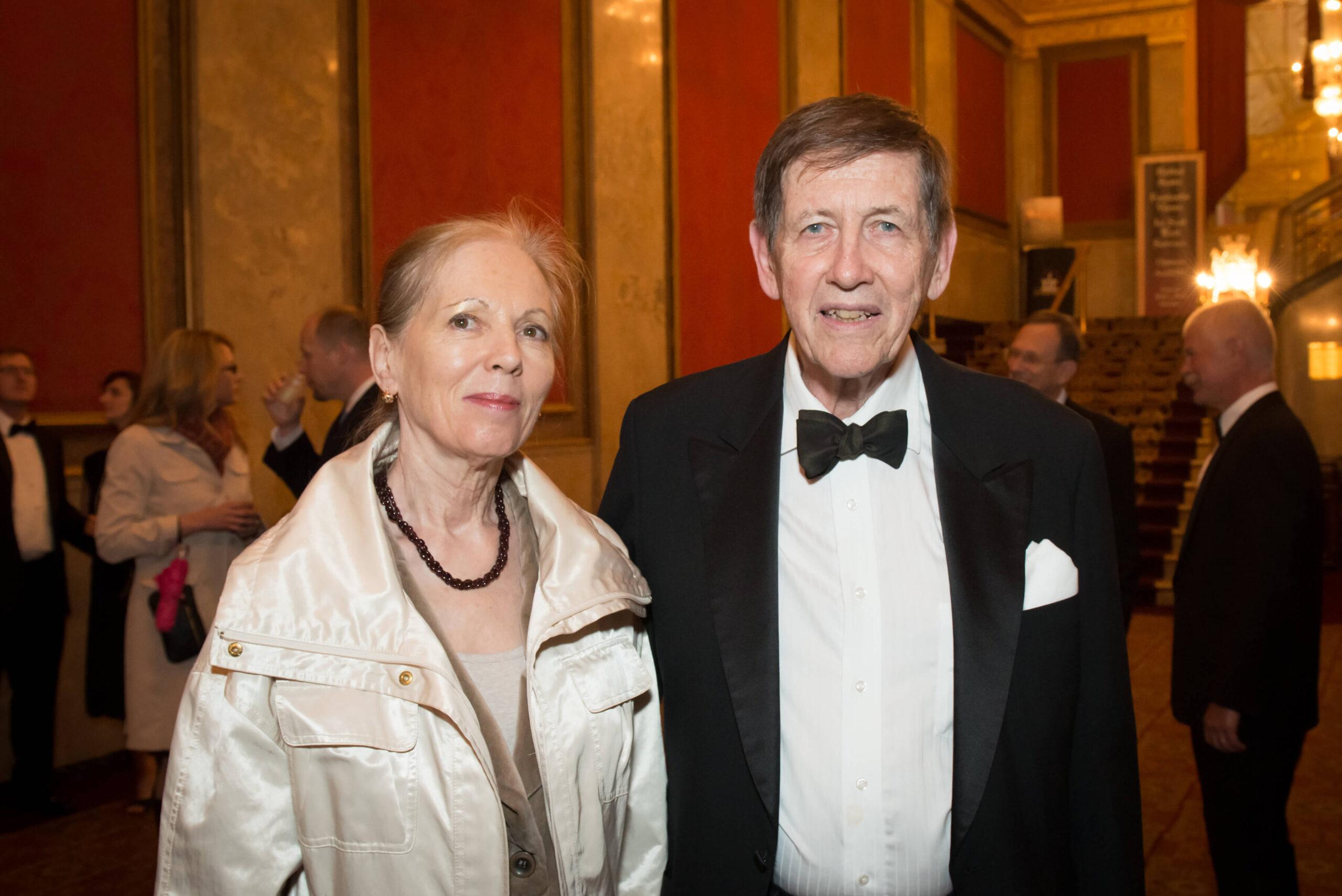 Mrs. Anikó and Mr. Blaise Pasztory