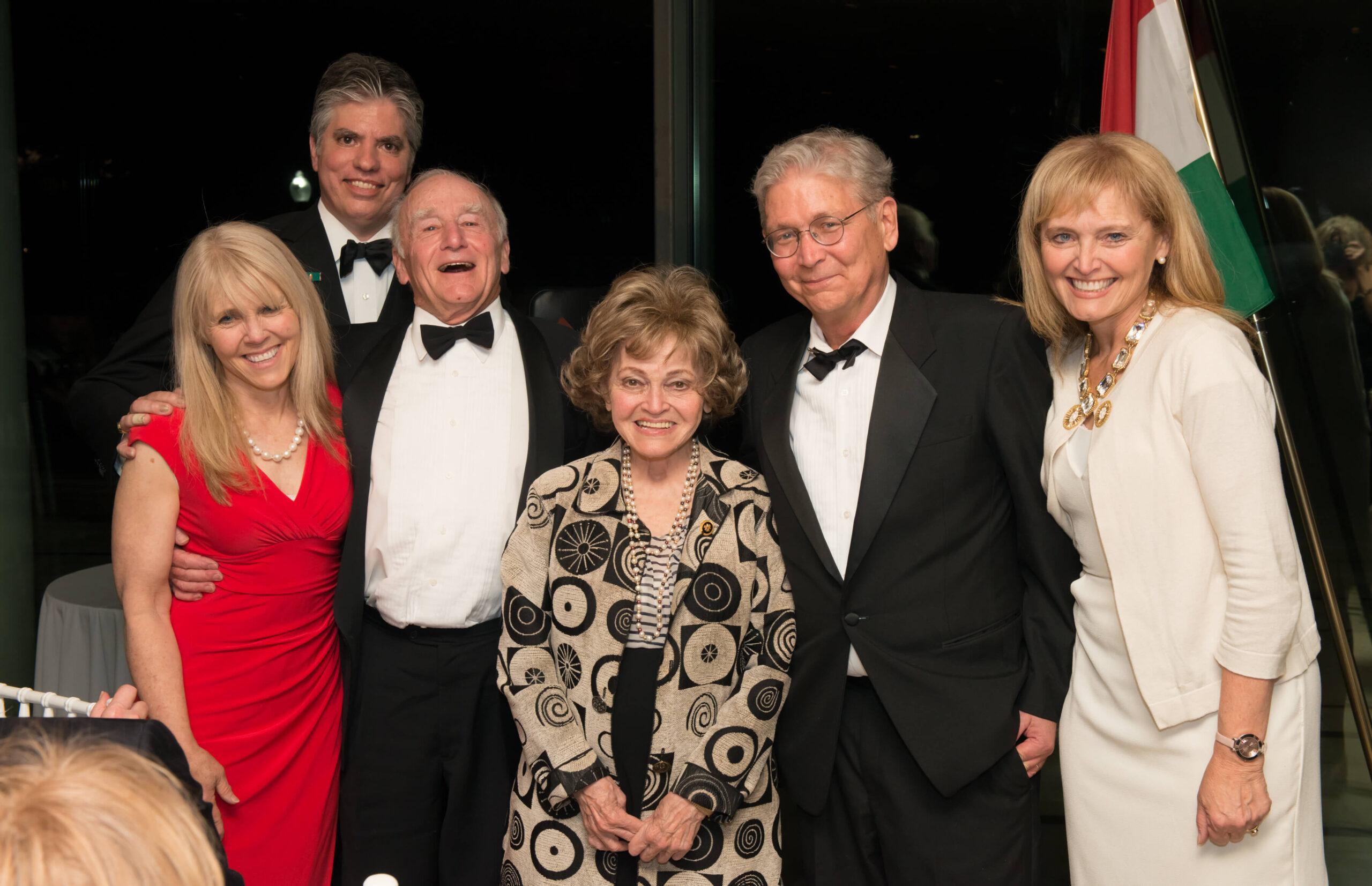 Mrs. Annette Tillemann-Dick, Mr. Max Teleki, Ambassador George h. Walker III, Mrs. Anette Lantos, Mr. László Hámos, Mrs. Katrina Lantos Swett
