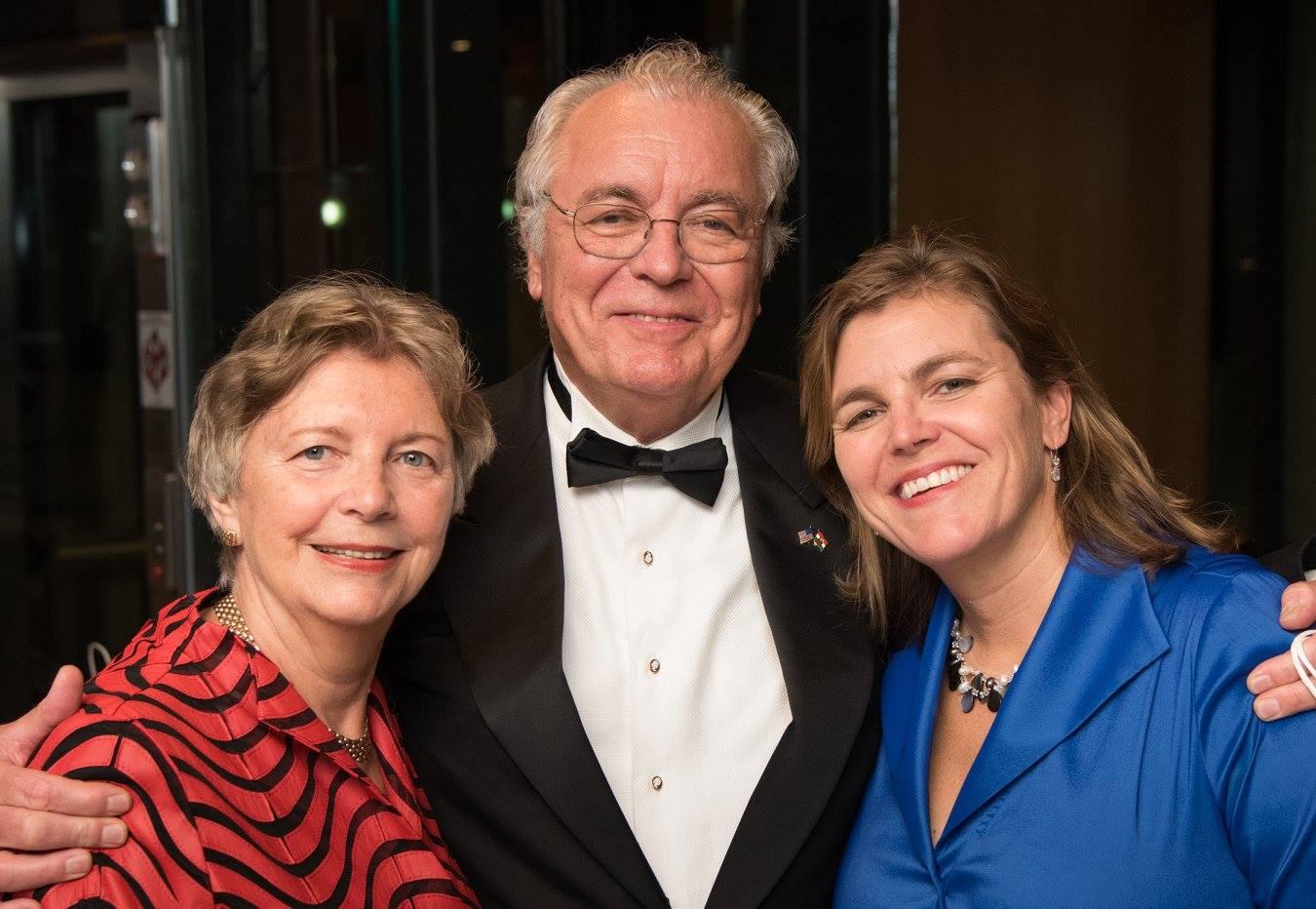 Mrs. Edith Lauer, Mr. John Lauer, Mrs. Andrea Lauer Rice