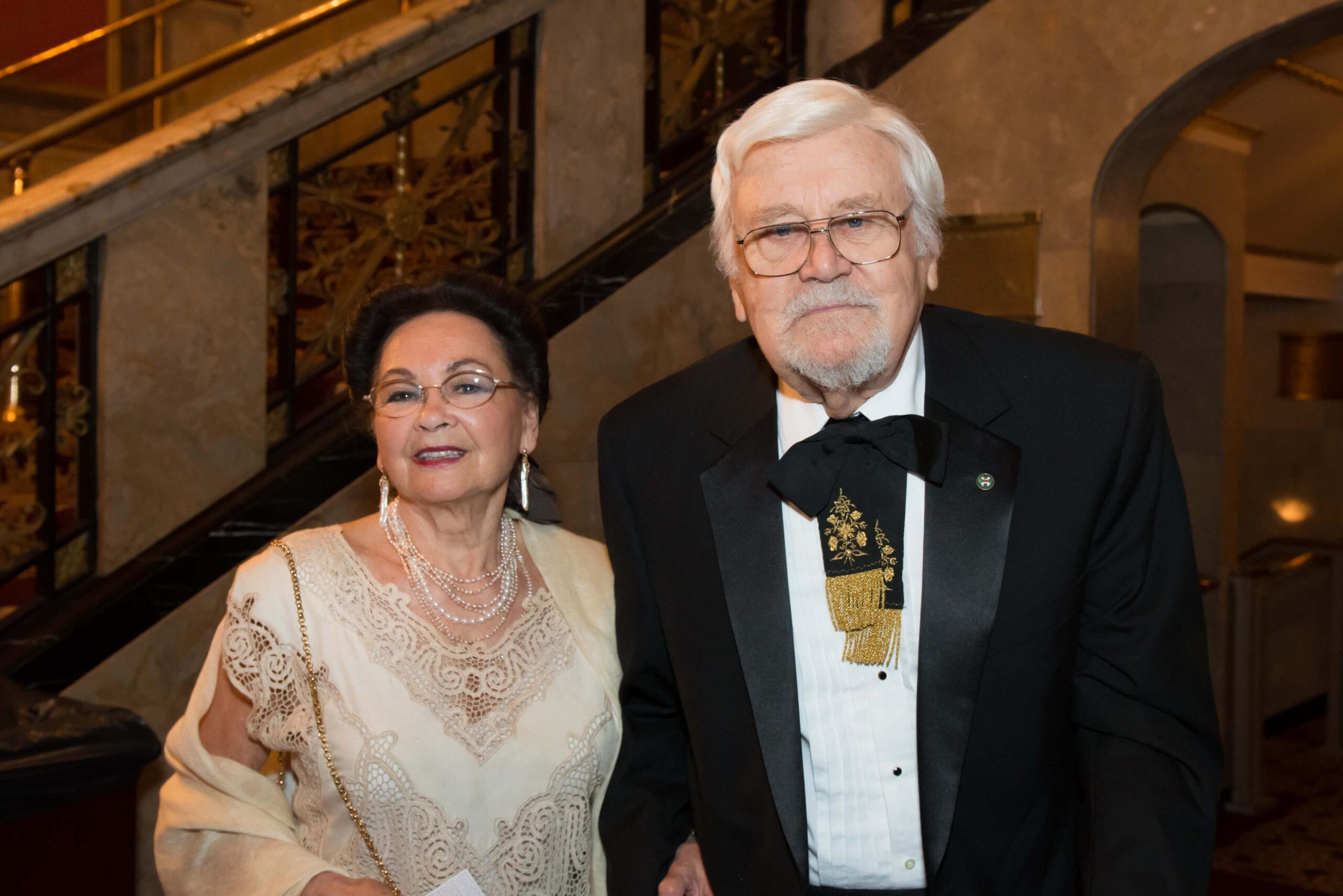 Mrs. Georgianna Böjtös and Mr. László Böjtös