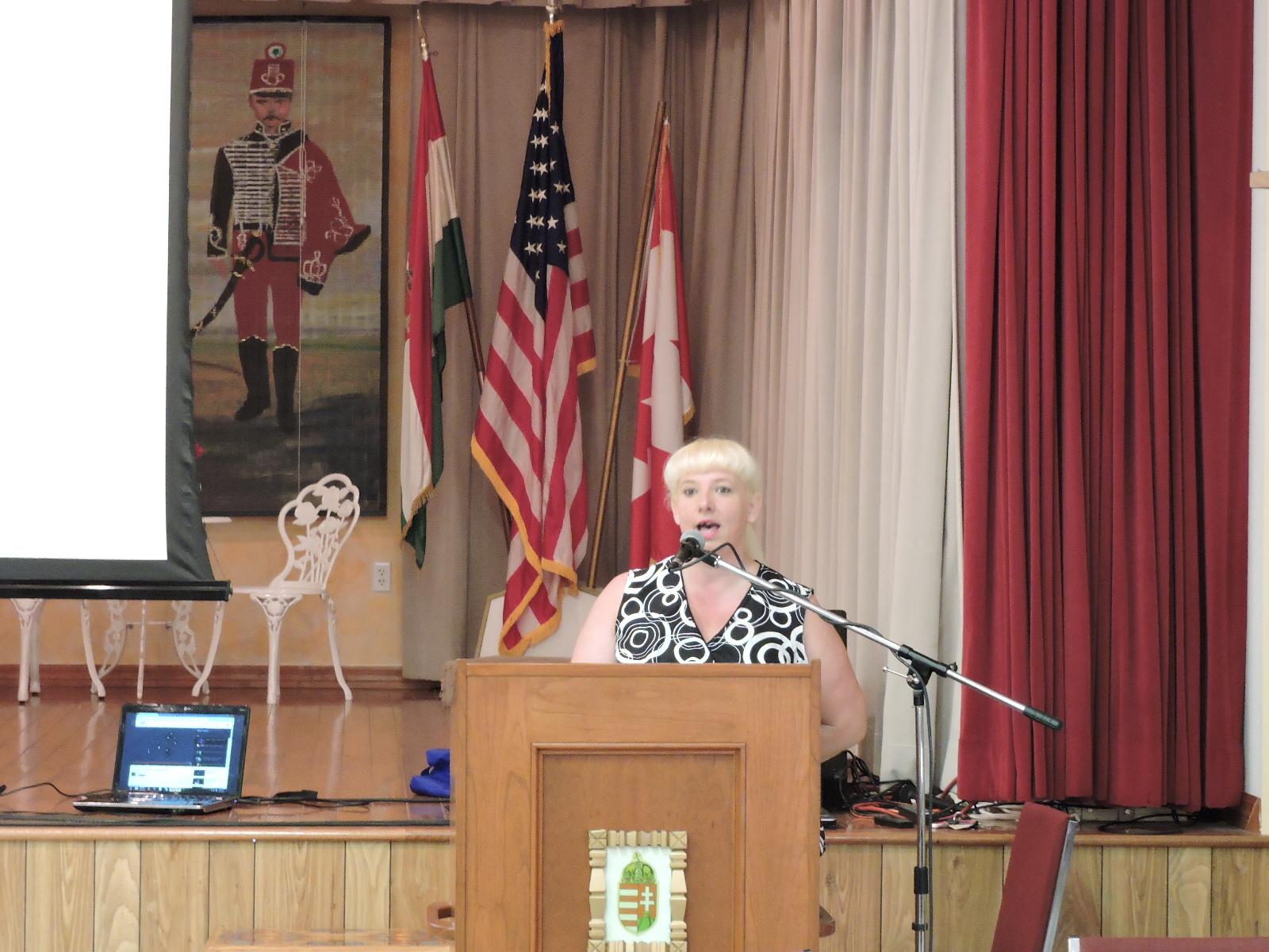 Ms. Noemi Szilagyi (Hungarian Christian Society)