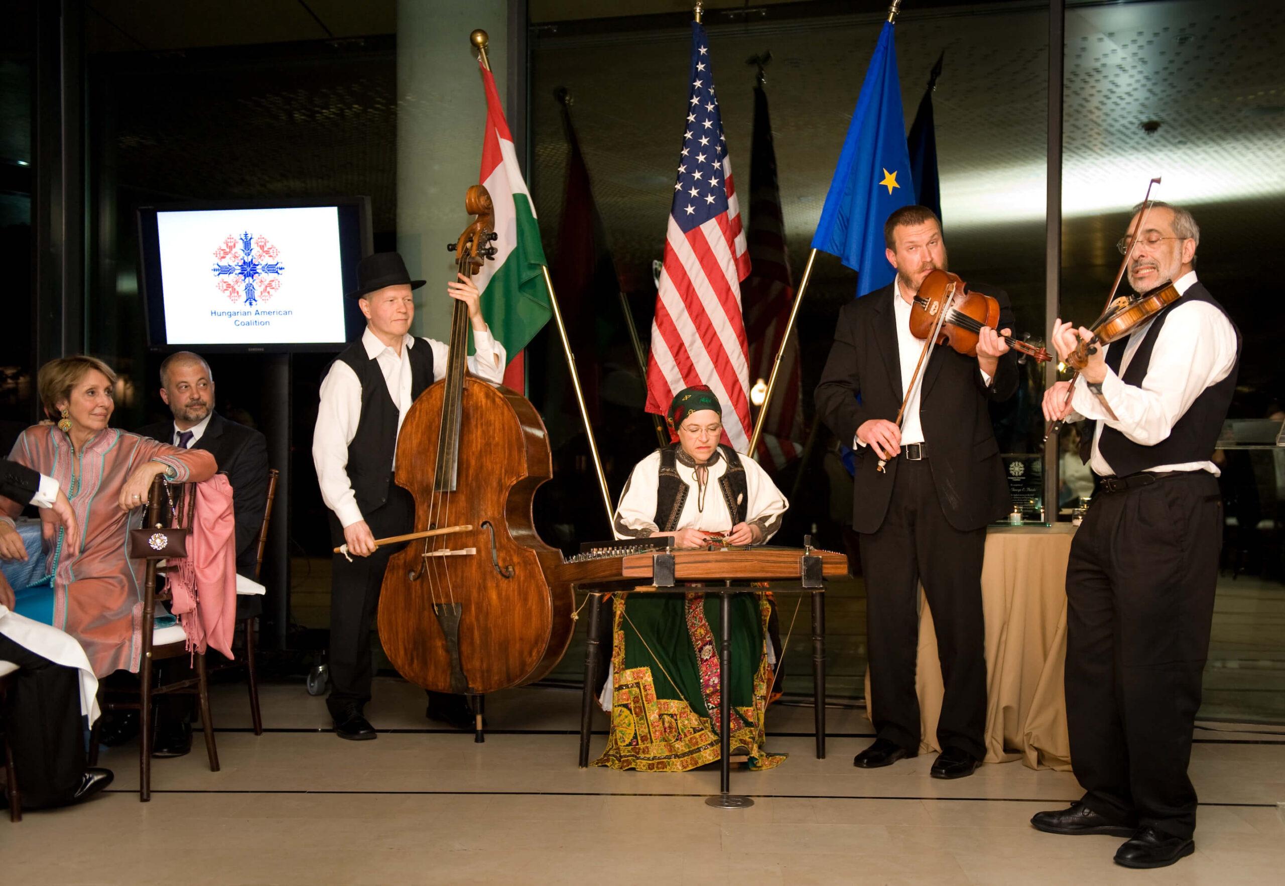 Tisza Folk Ensemble musicians