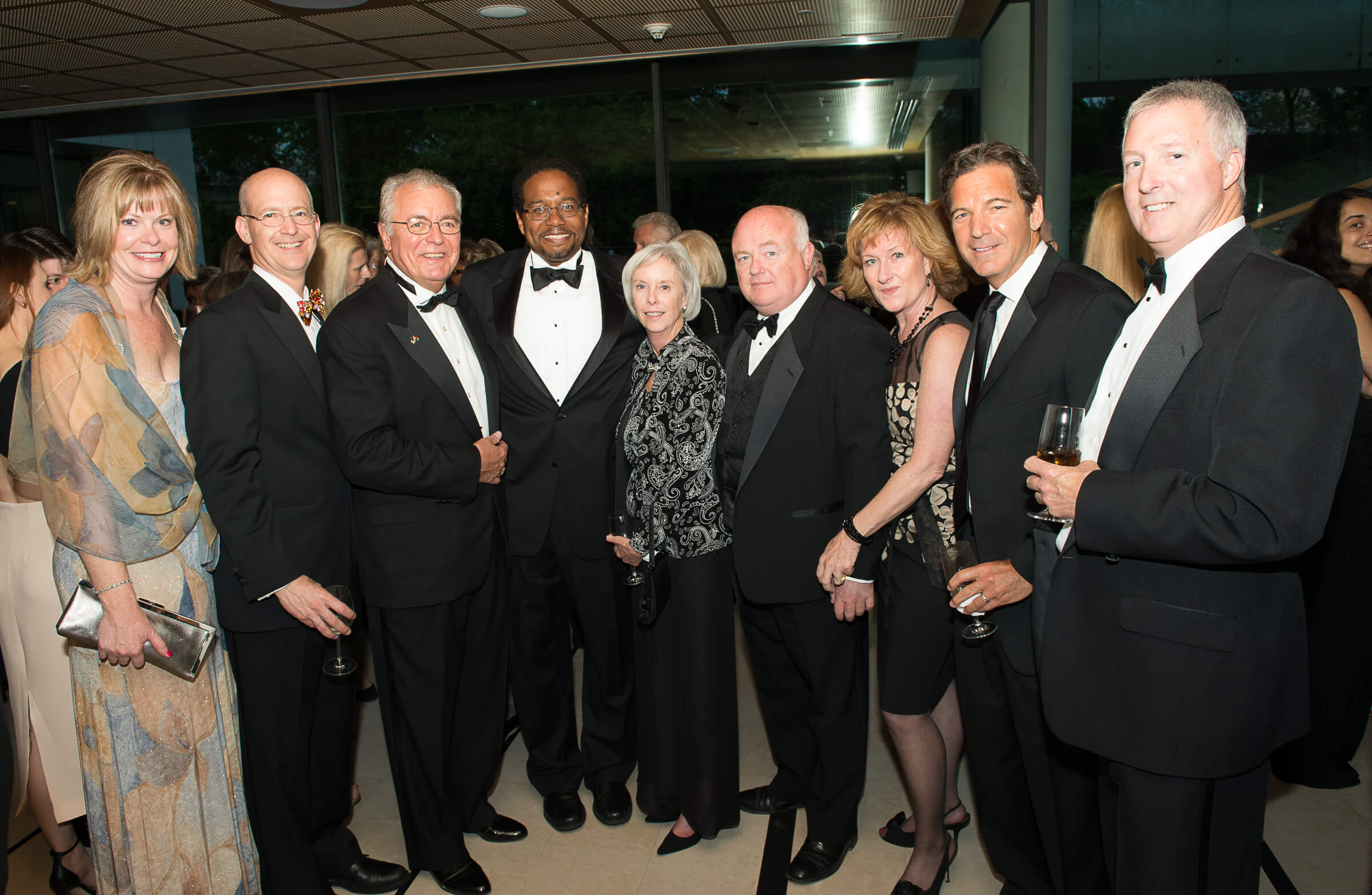 University of Maryland Friends Debbie Potter, Ross Stern, John N. Lauer, Daryl Pines, Barbara Quinn, Tim Mahoney, Sheila Mahoney, Marvin Rabovsky, Michael Quinn