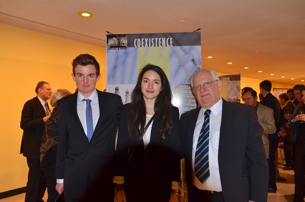 Mr. Péter Szekeres, Ms. Melinda Szekeres, Mr. Zsolt Szekeres Photo by: Babette Rittmeyer/Lantos Foundation