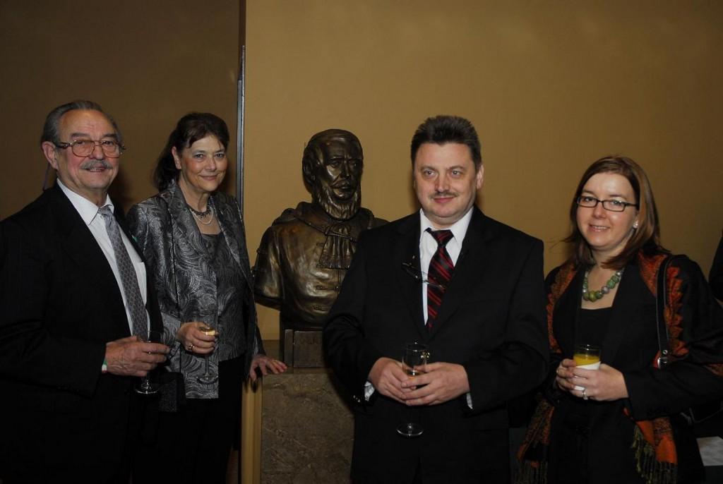 Mr. Laszlo Fulop, Mrs. Agnes Fulop, Dr. Laszlo Varju and Ms. Andrea Gorog