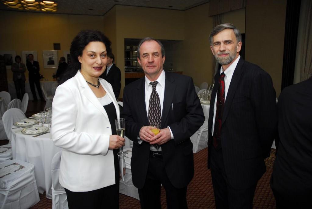 Mr. and Mrs. Janusz Bugajski and Mr. Tibor Purger