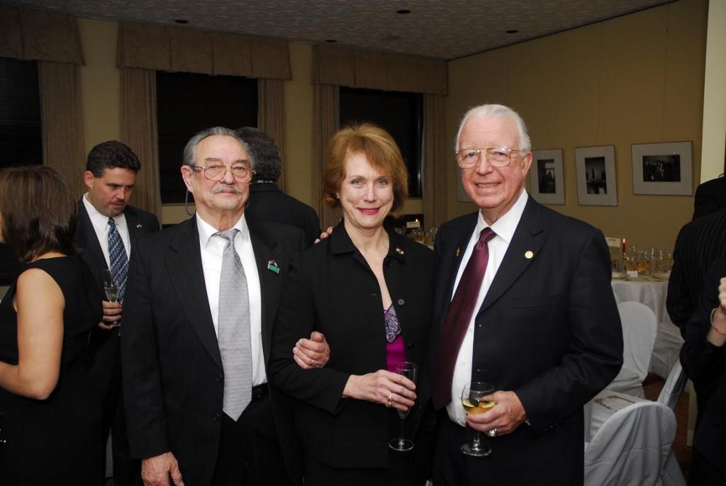 Mr. Laszlo Fulop, Mrs. Anne Bader and Hon. Joseph Bader