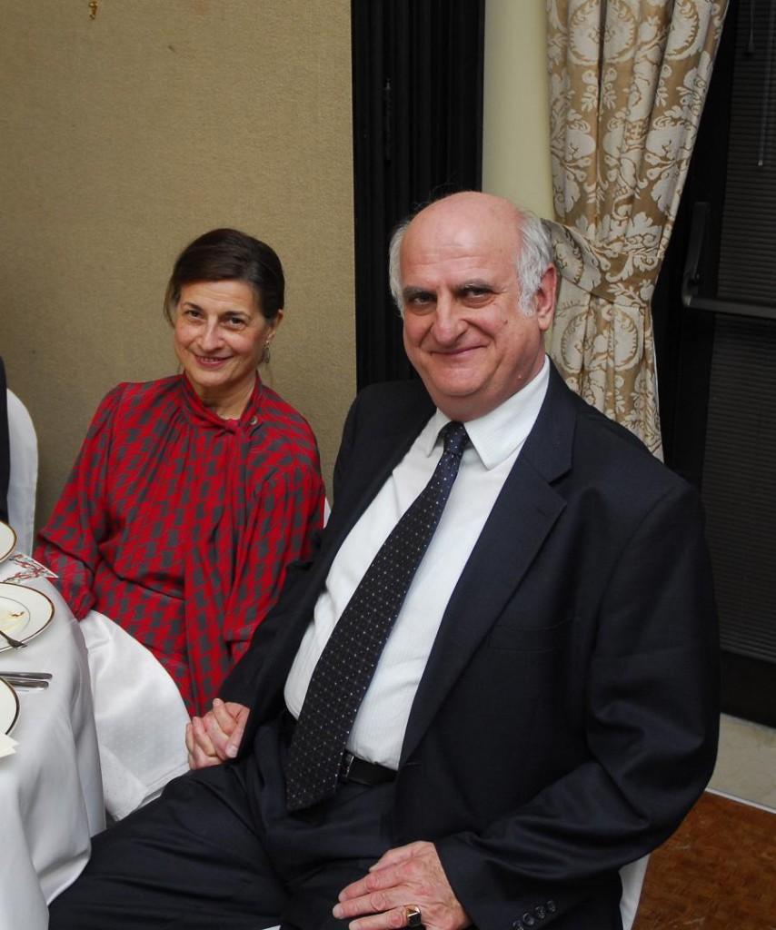 Mrs. Judit Szekeres and Mr. Janos Szekeres