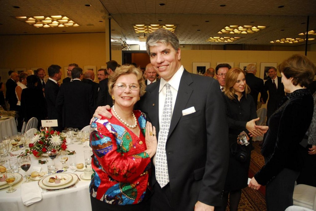 Mrs. Edith K. Lauer and Mr. Maximilian Teleki