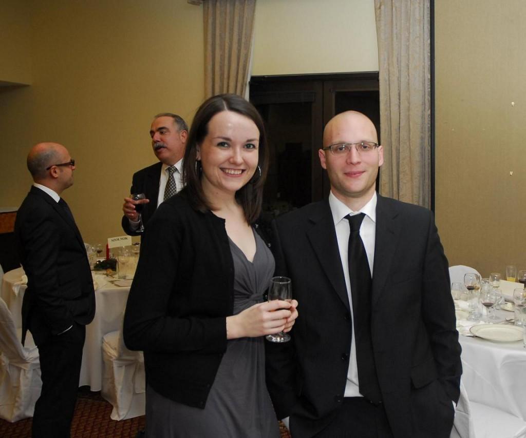 Ms. Zsuzsa Budai and Mr. Marton Aichelburg