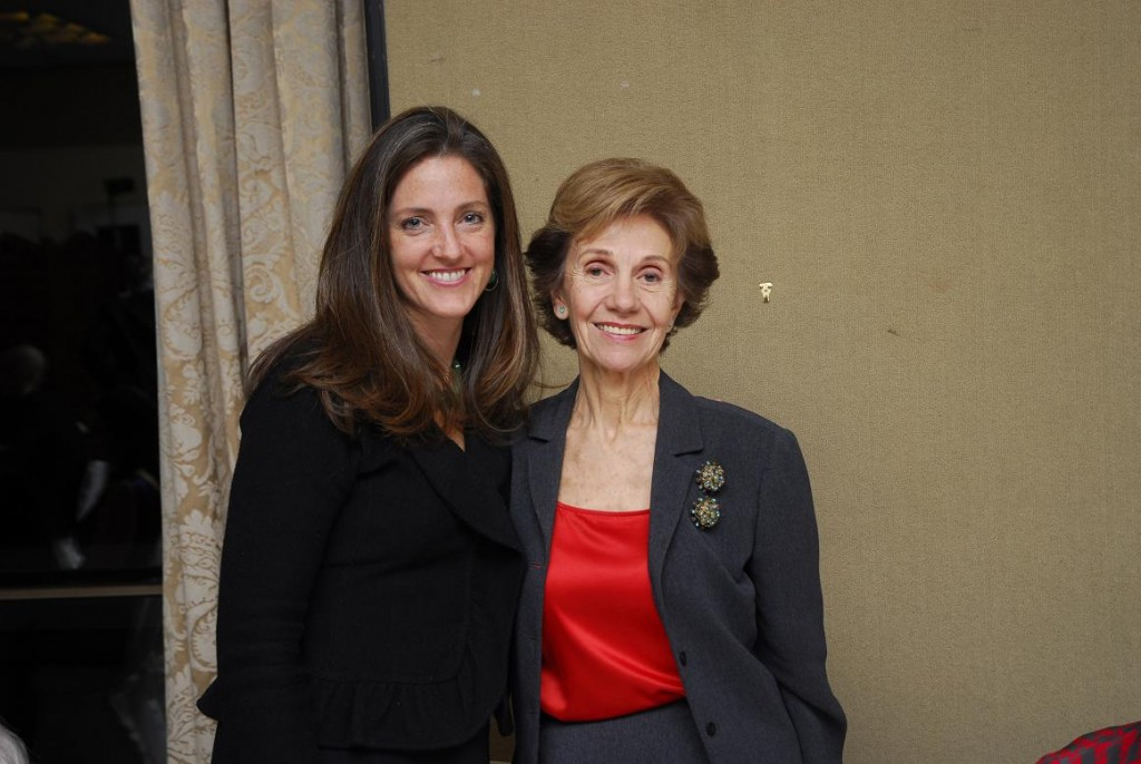 Mrs. Wendy Teleki and Mrs. Beatriz Teleki