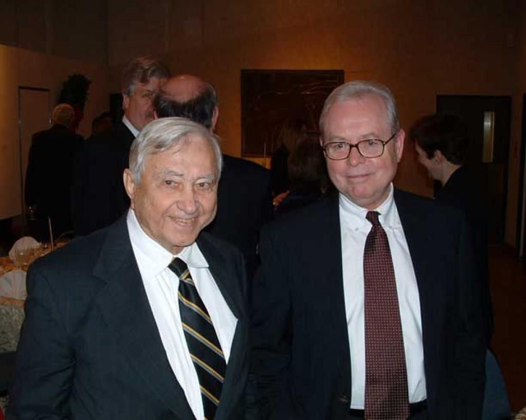 Mr. Alfréd Tóth and Mr. Zoltán Bagdi