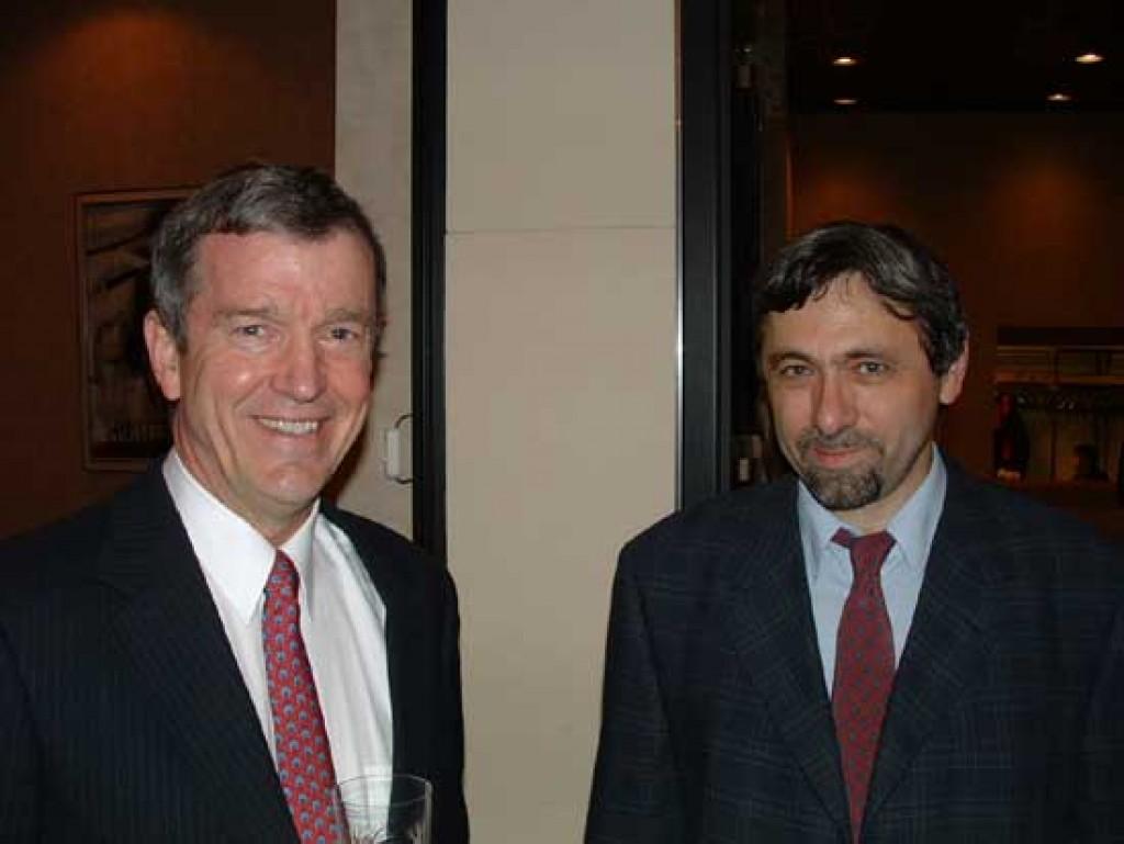 Mr. Per Bang Jensen and László Tót