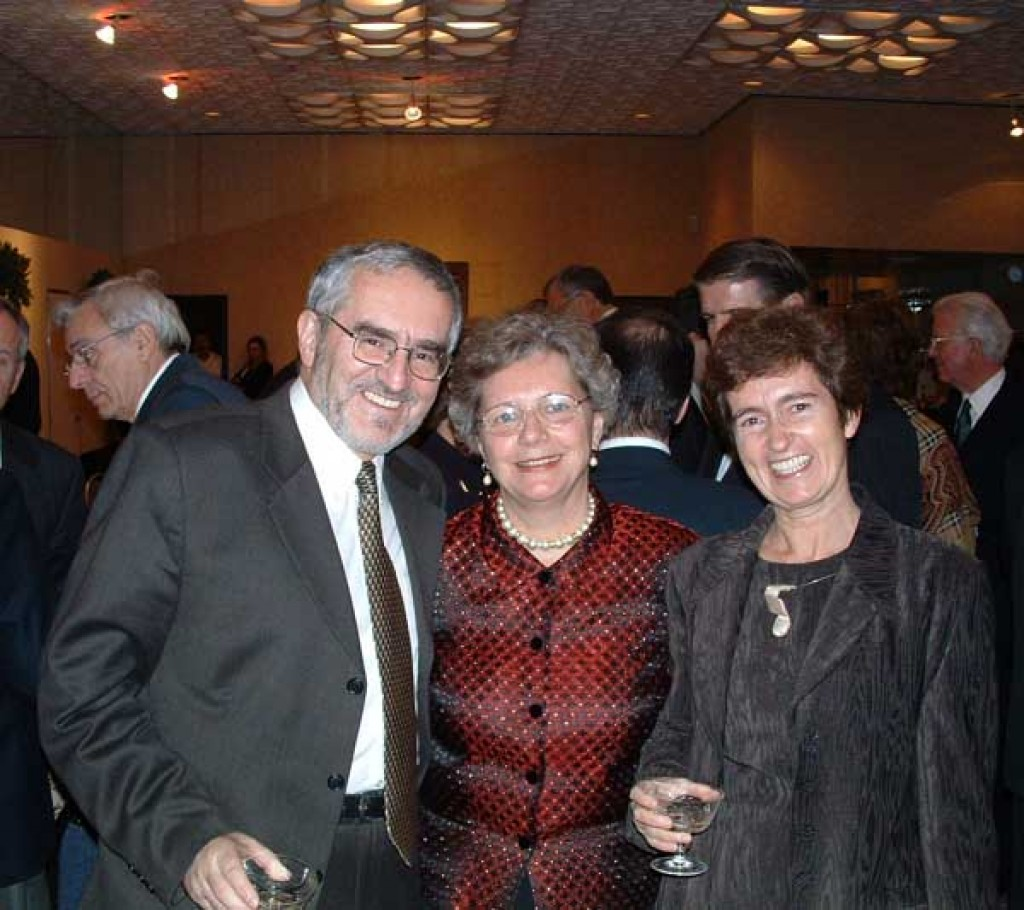 Mrs. Edith Lauer and Mr. and Mrs. Butora
