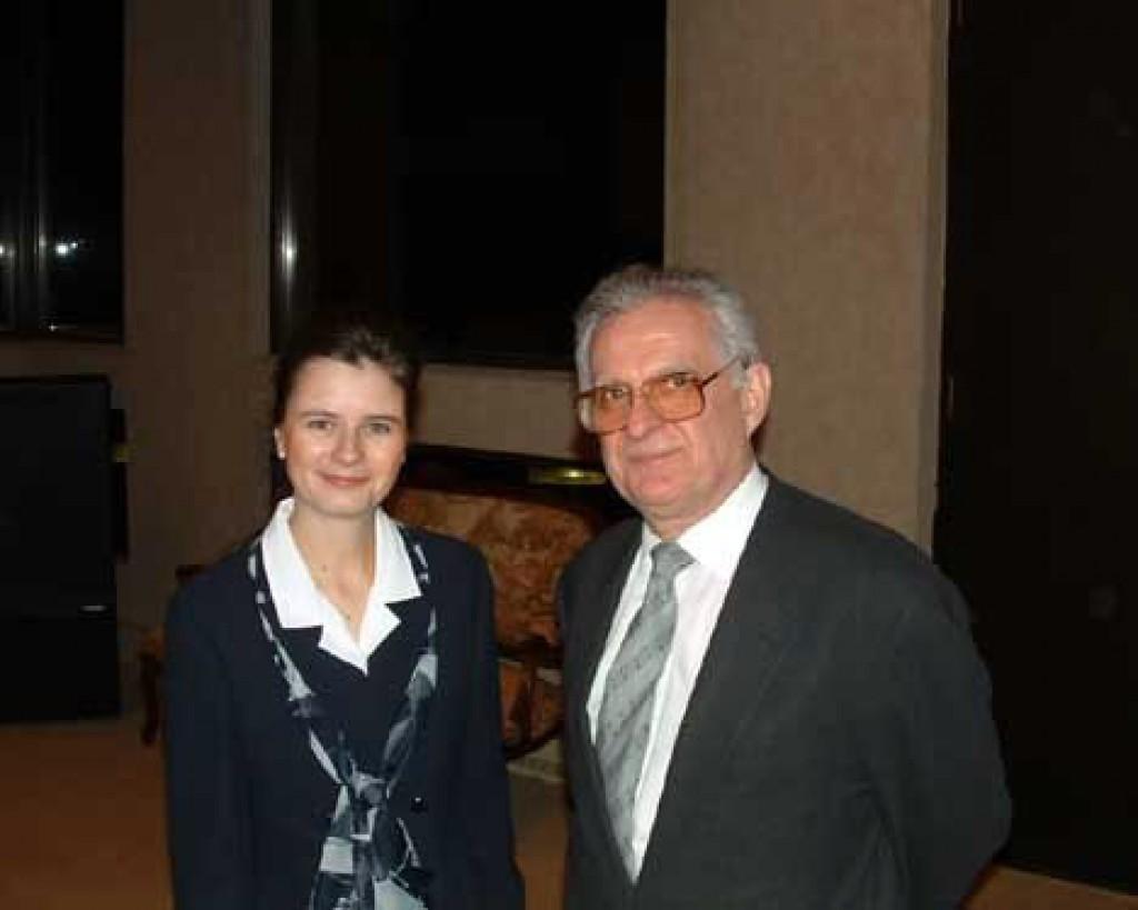 Mrs. Maria Hermann and Mr. Zsolt Szekeres